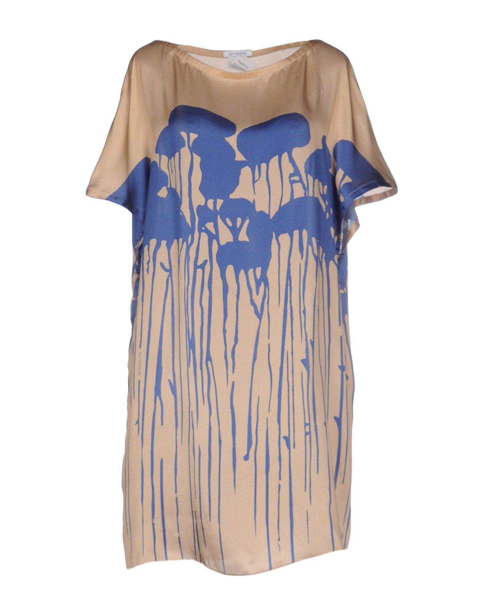 GF FERRE' Короткое платье приталенное платье с v образным вырезом gf ferre платья и сарафаны мини короткие