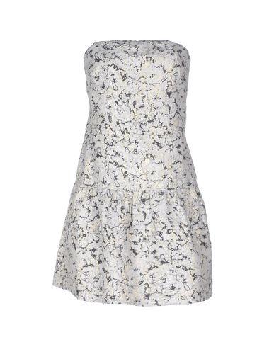 Фото - Женское короткое платье PINKO BLACK белого цвета