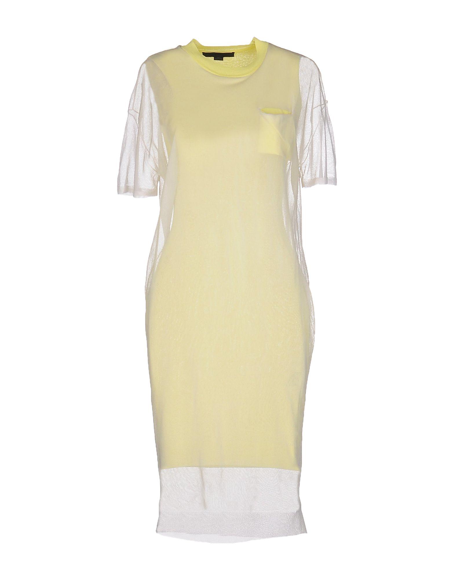 где купить ALEXANDER WANG Платье до колена по лучшей цене
