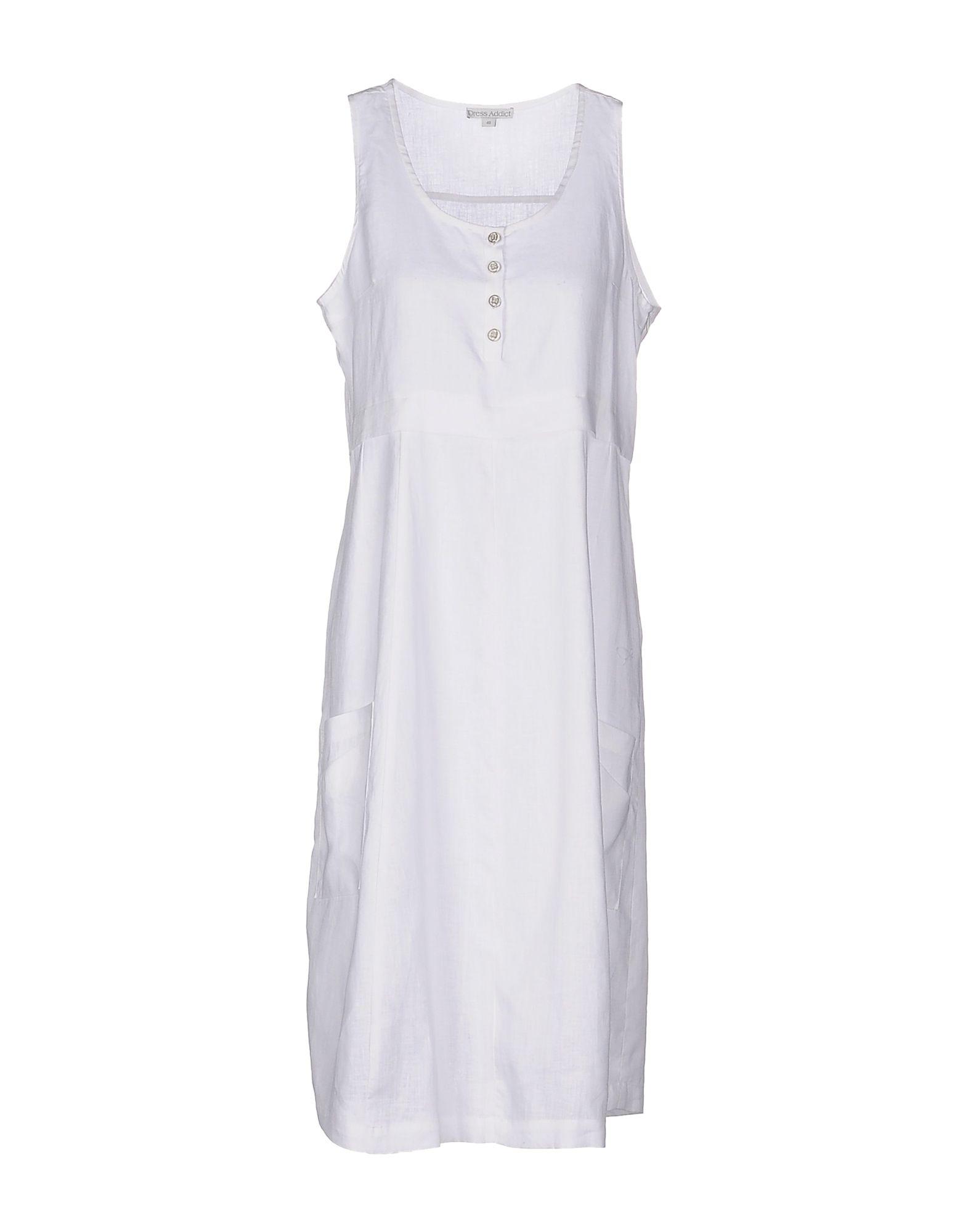 DRESS ADDICT Платье длиной 3/4 lisa corti платье длиной 3 4