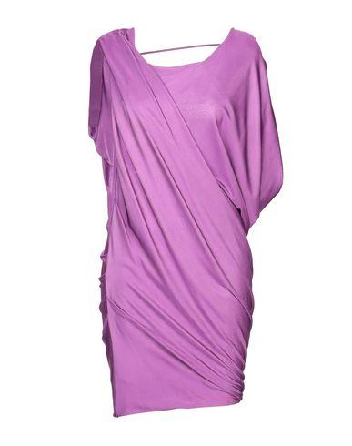 Купить Женское короткое платье  розовато-лилового цвета
