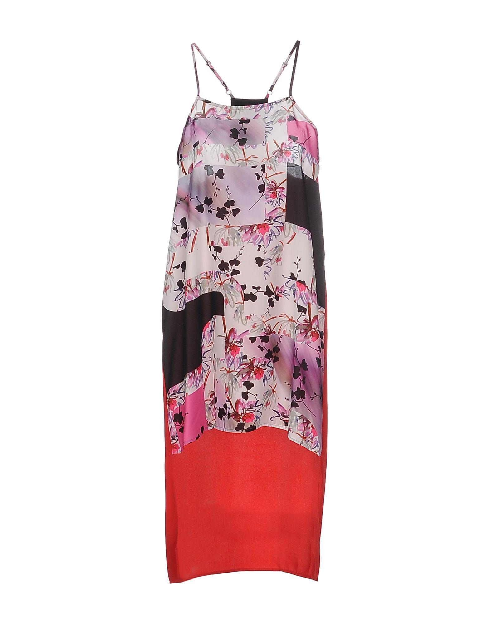 SPACE STYLE CONCEPT Платье до колена цена 2017