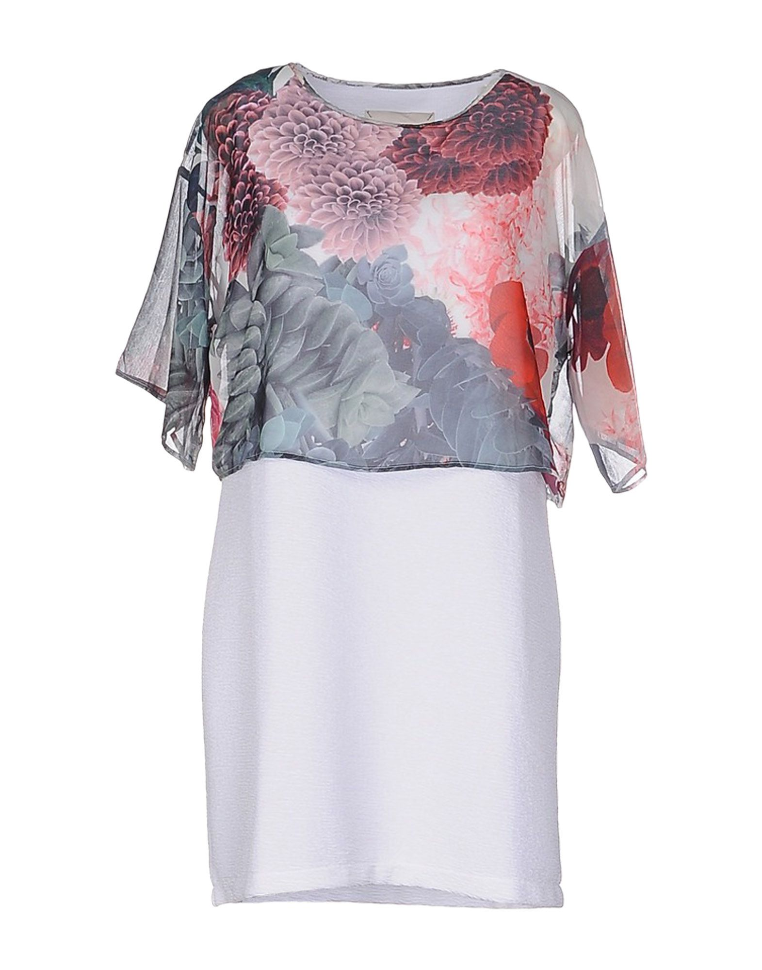цена GAëLLE Paris Короткое платье онлайн в 2017 году