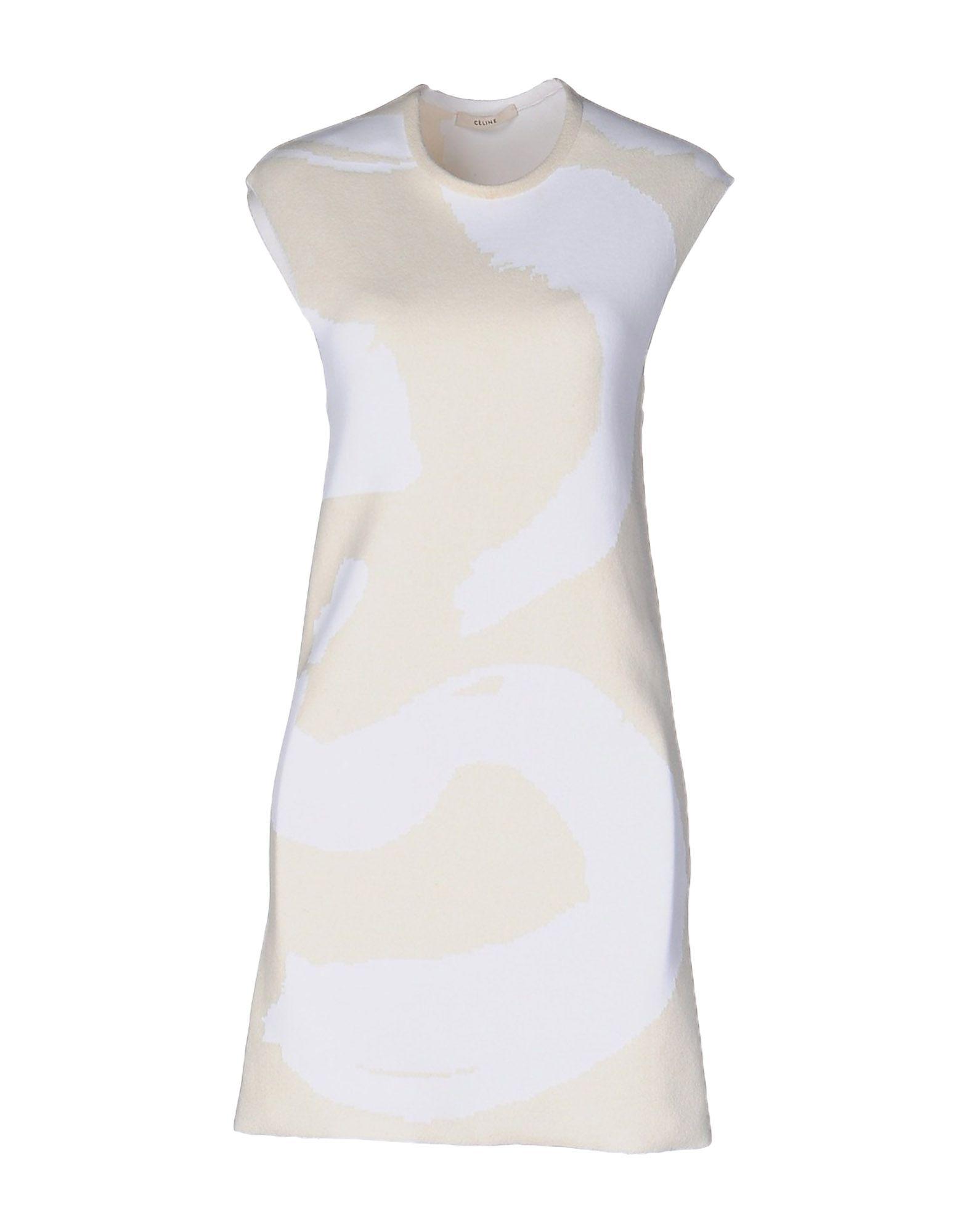 где купить CÉLINE Короткое платье по лучшей цене