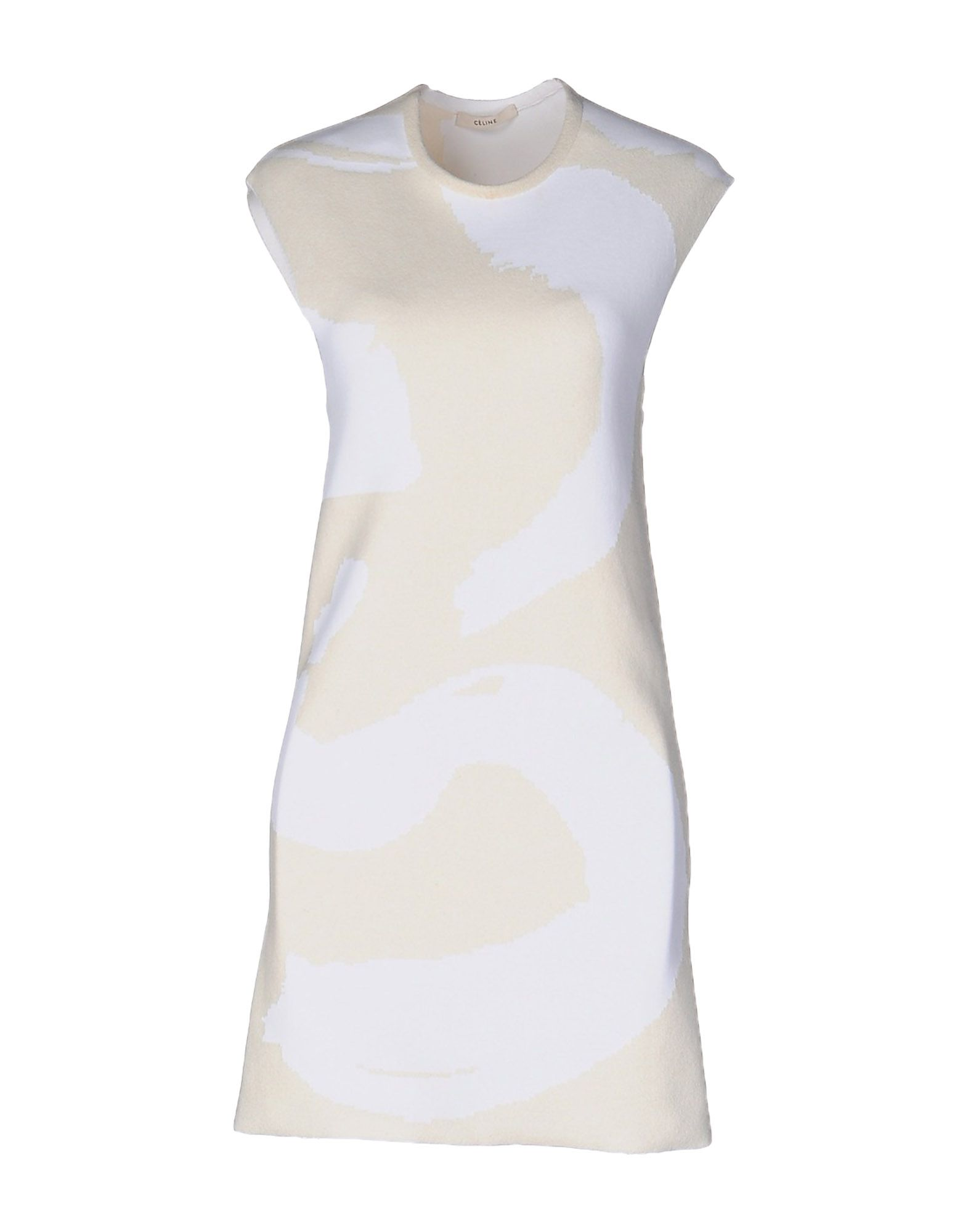 цена  CÉLINE Короткое платье  онлайн в 2017 году
