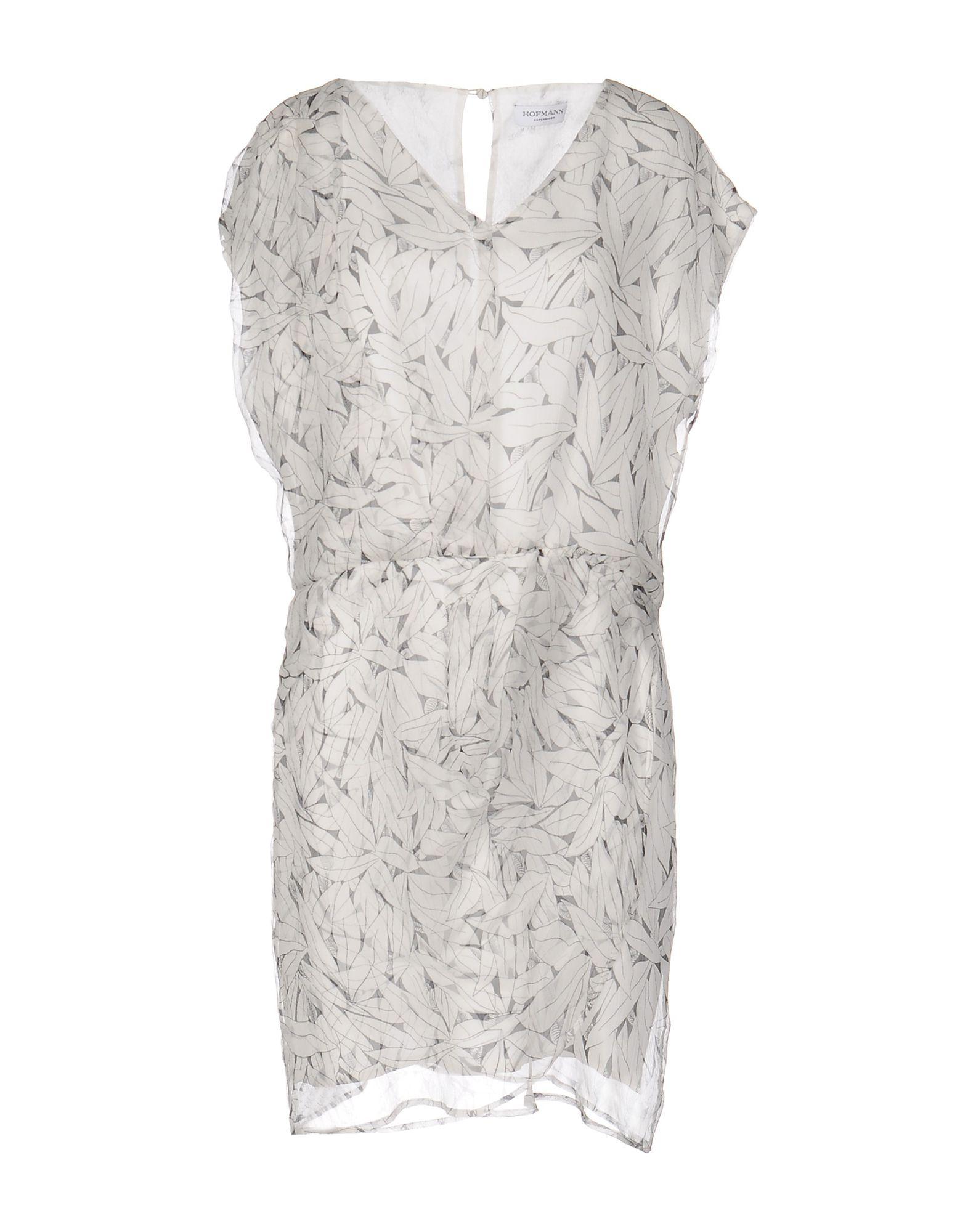 цена HOFMANN Короткое платье онлайн в 2017 году