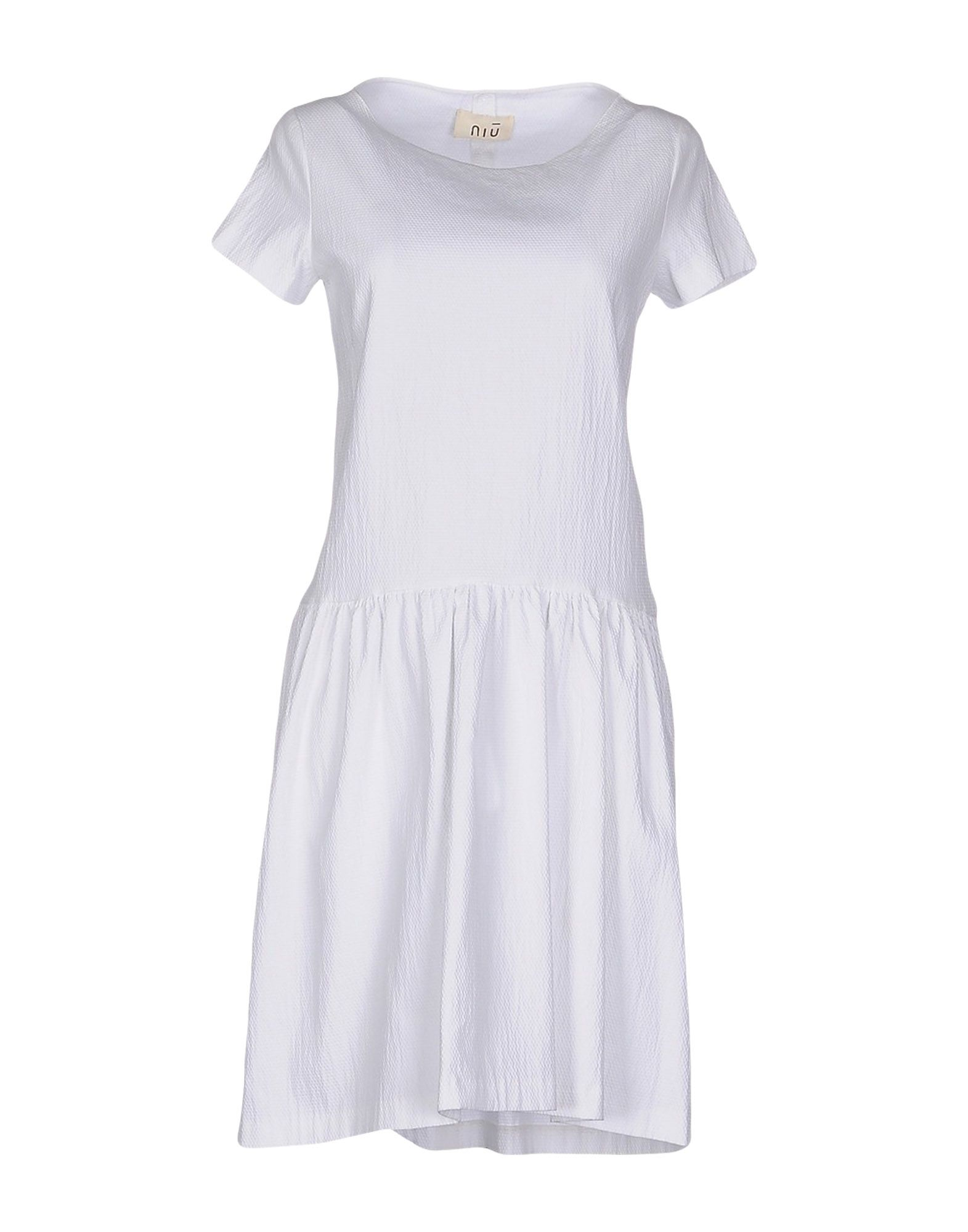 NIU' Короткое платье niu kangte in sale dha