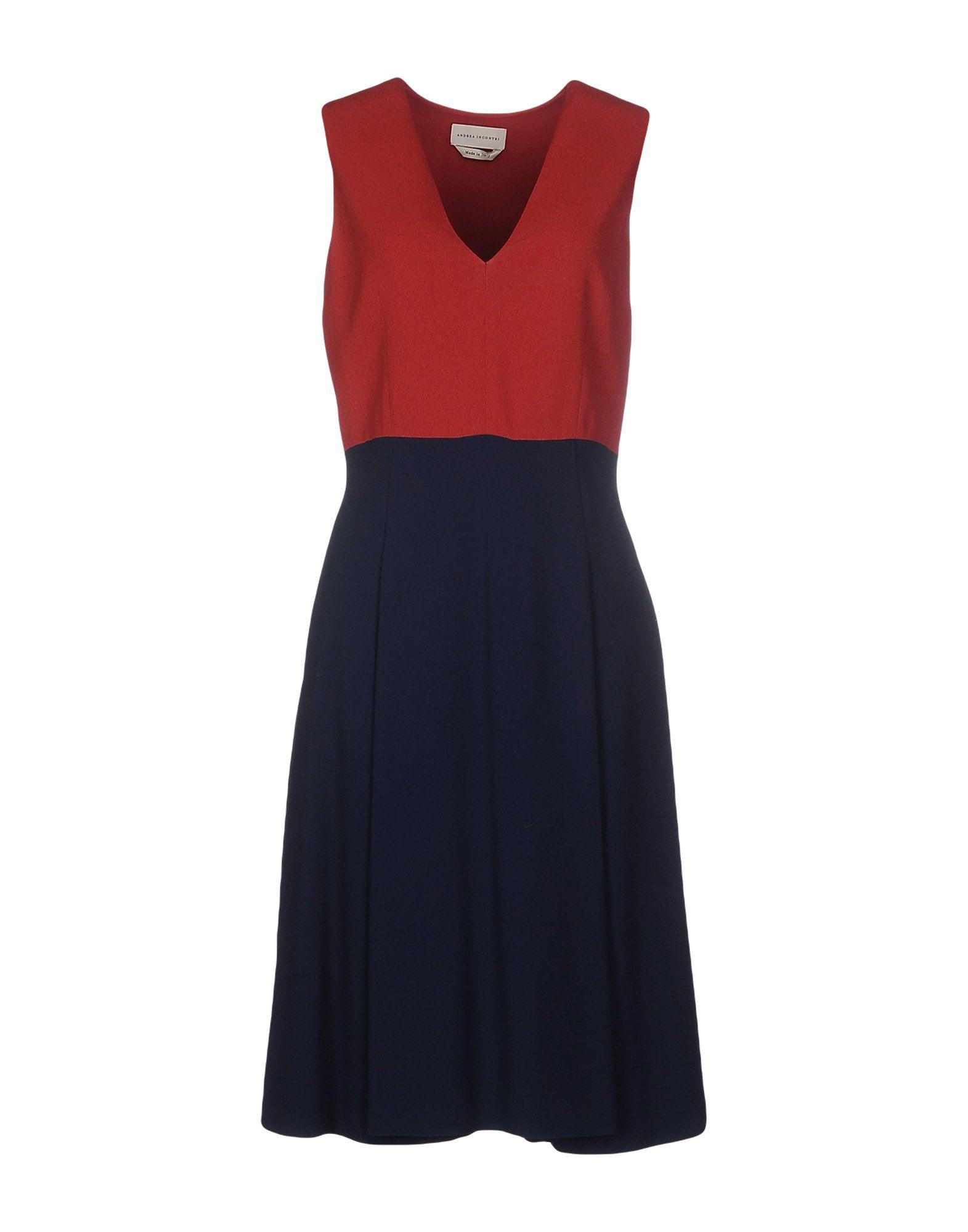 ANDREA INCONTRI Платье до колена цена 2017