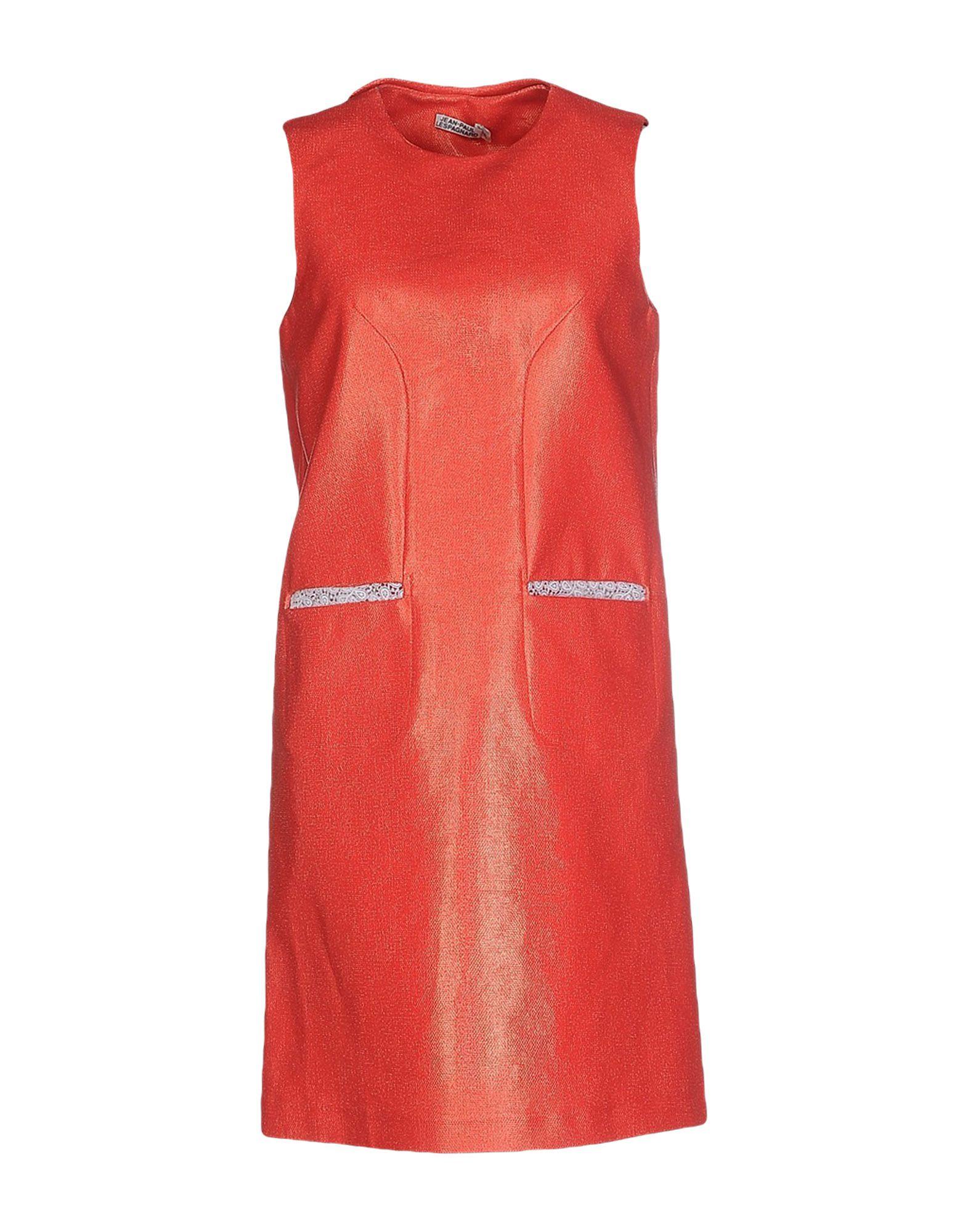 JEAN-PAUL LESPAGNARD Короткое платье jean paul gaultier vintage двубортное пальто