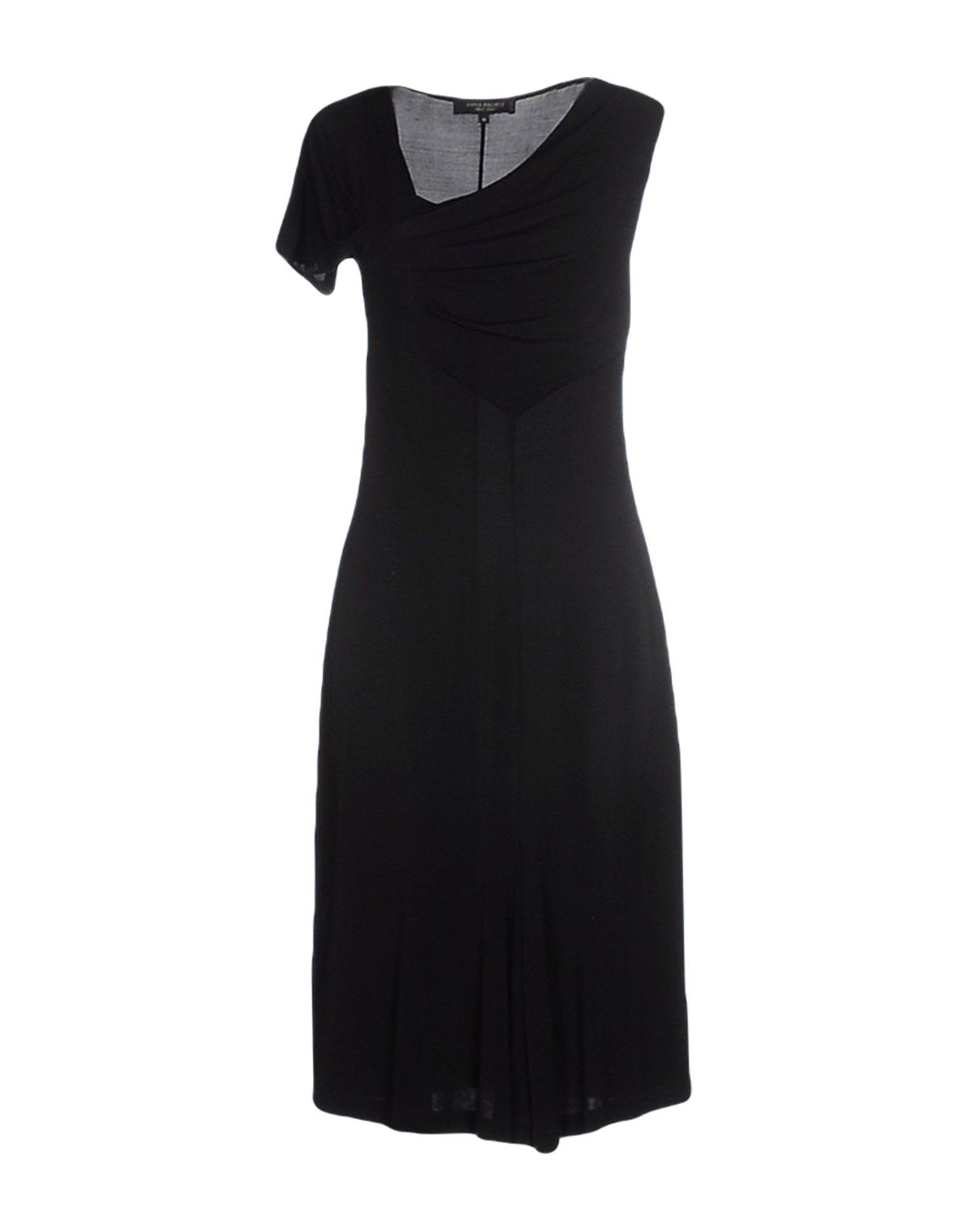 ANNA RACHELE BLACK LABEL Платье до колена цена 2017