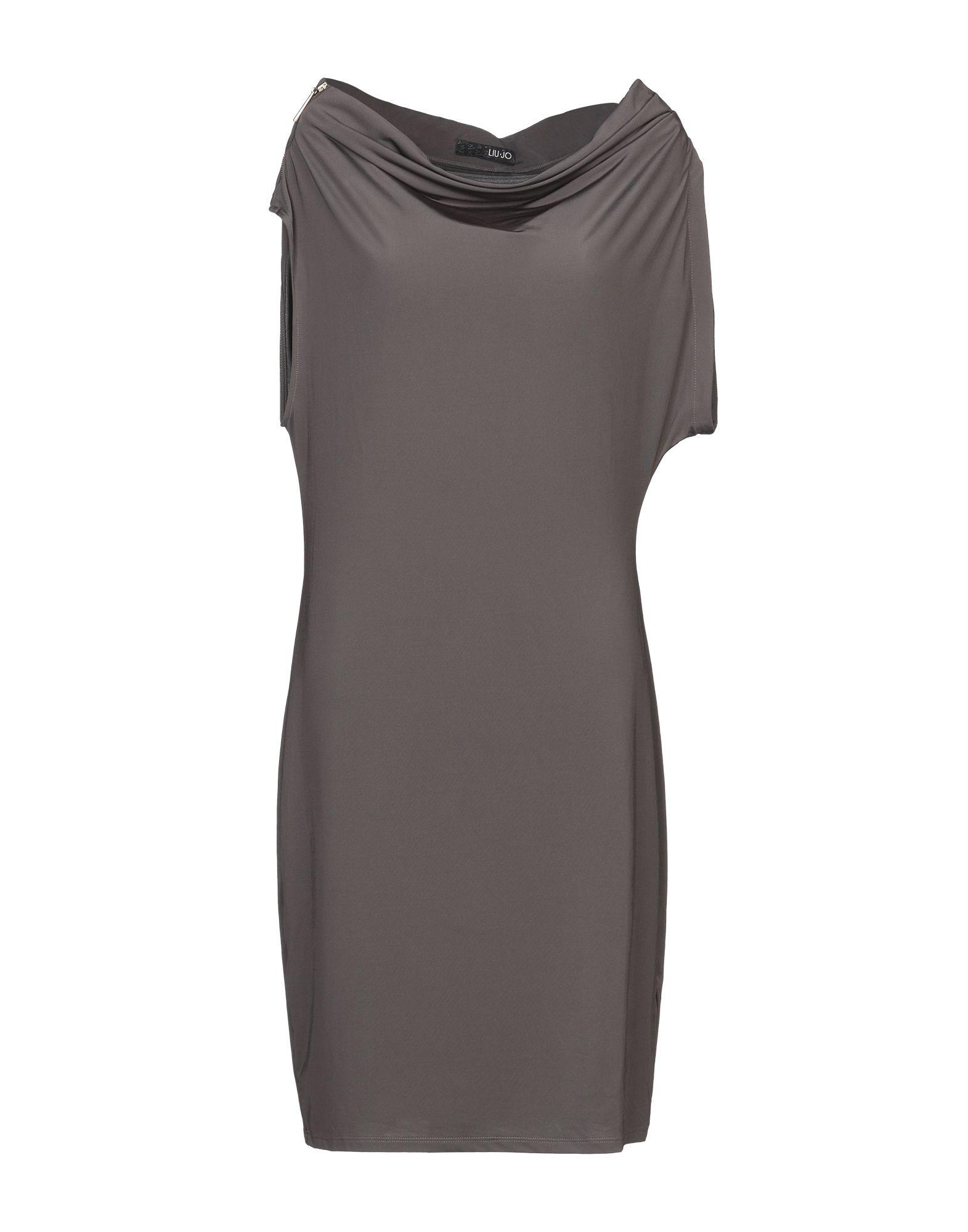 LIU •JO Короткое платье платье короткое с графическим рисунком без рукавов