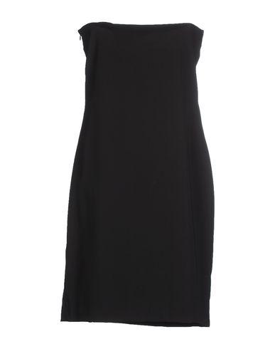 Фото 2 - Женское короткое платье SHI 4 черного цвета