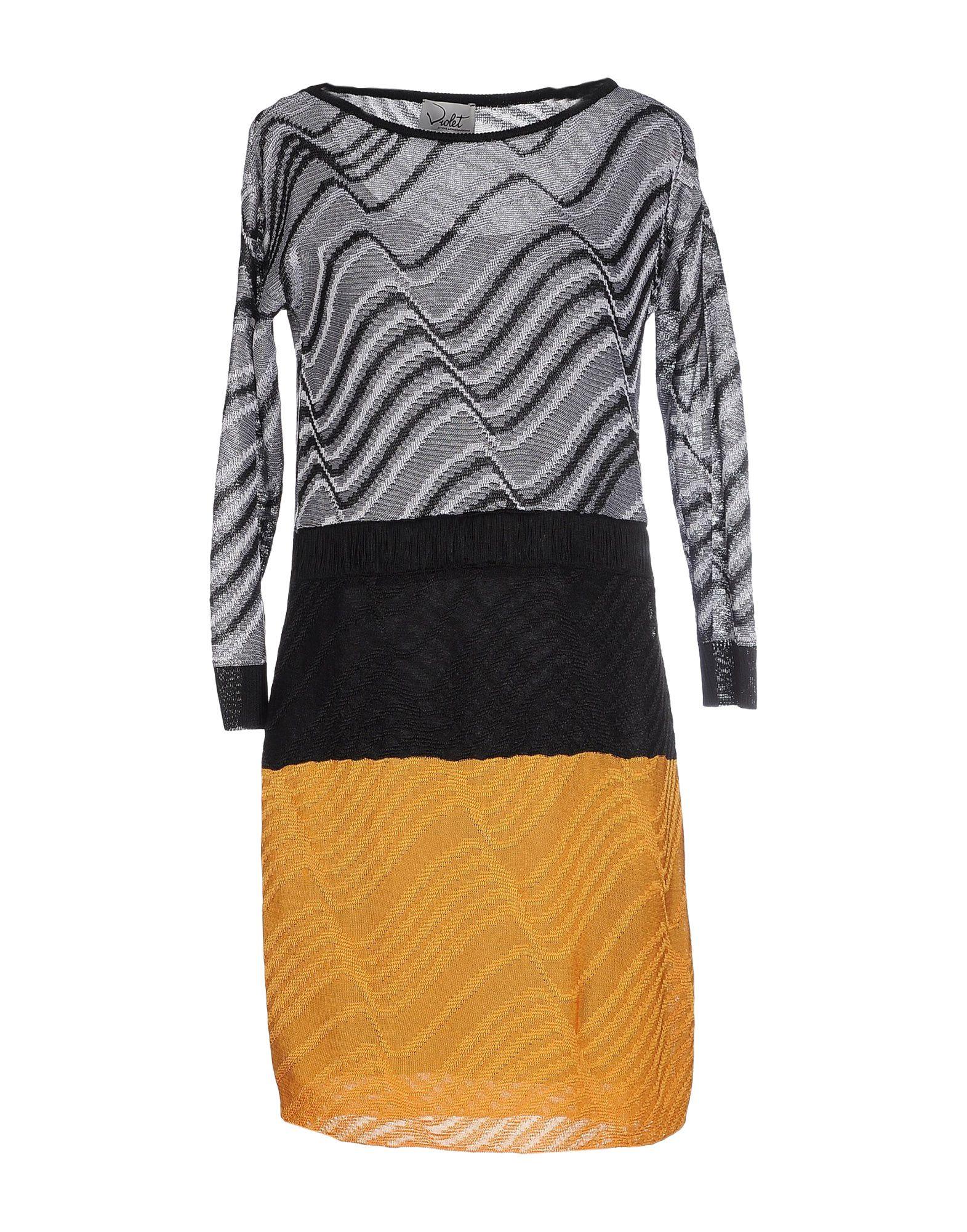 VIOLET ATOS LOMBARDINI Короткое платье недорго, оригинальная цена