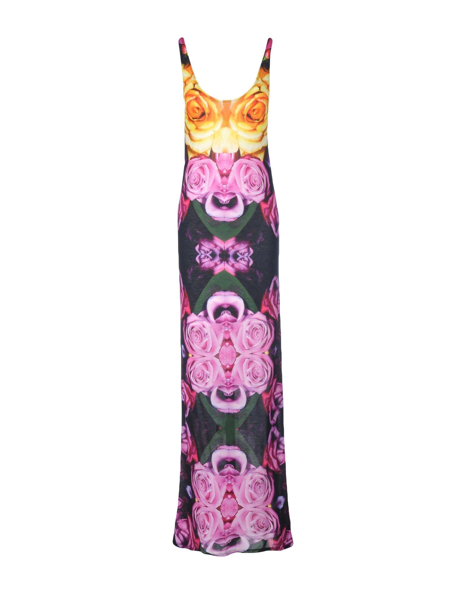 TOTHEM Long Dress in Light Purple