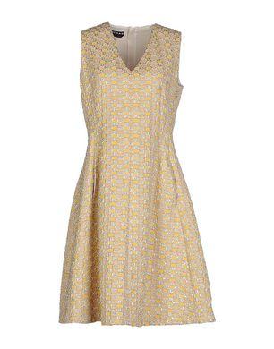 ROCHAS Damen Kurzes Kleid Farbe Gelb Größe 4 Sale Angebote Türkendorf