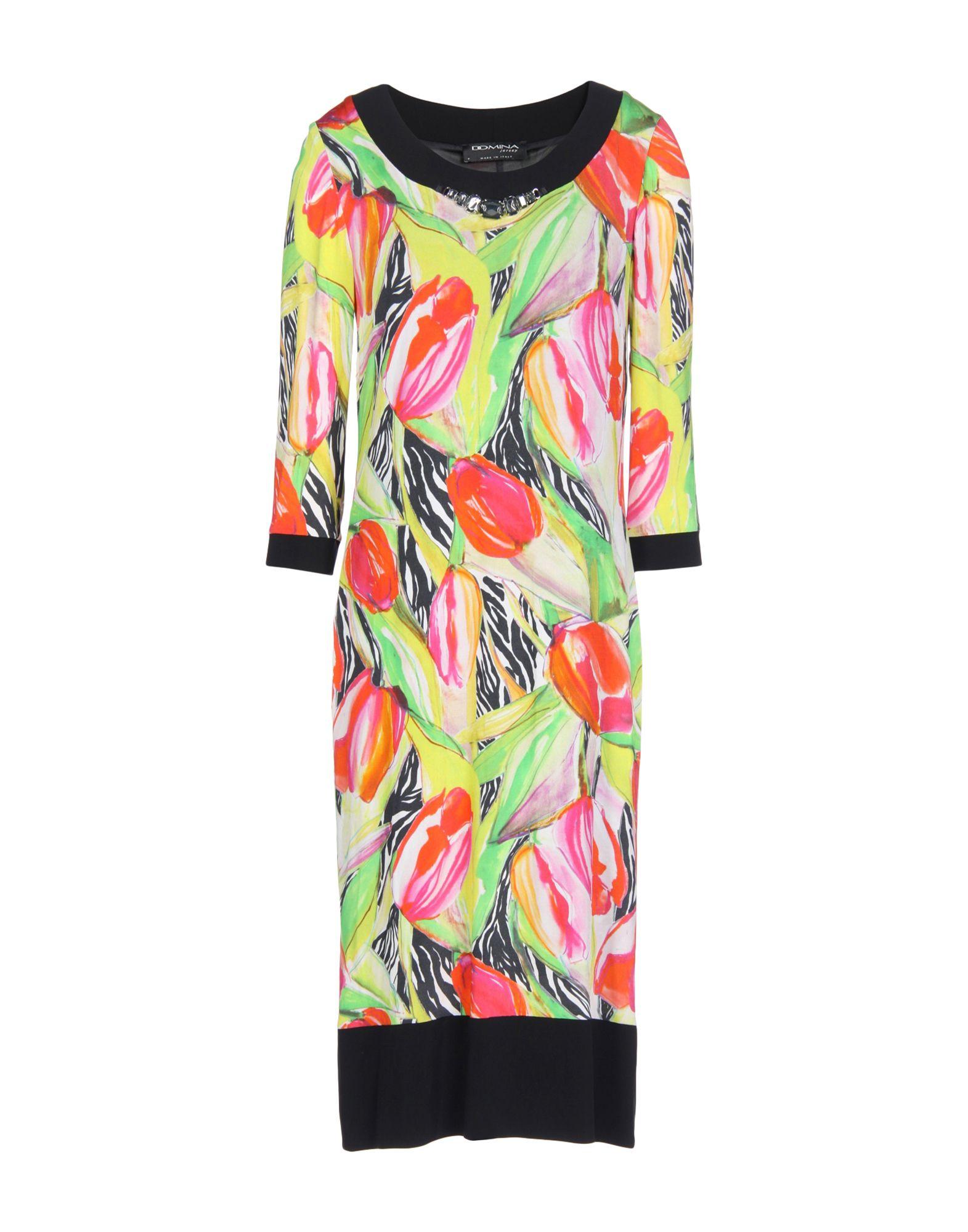 где купить DOMINA Платье до колена по лучшей цене