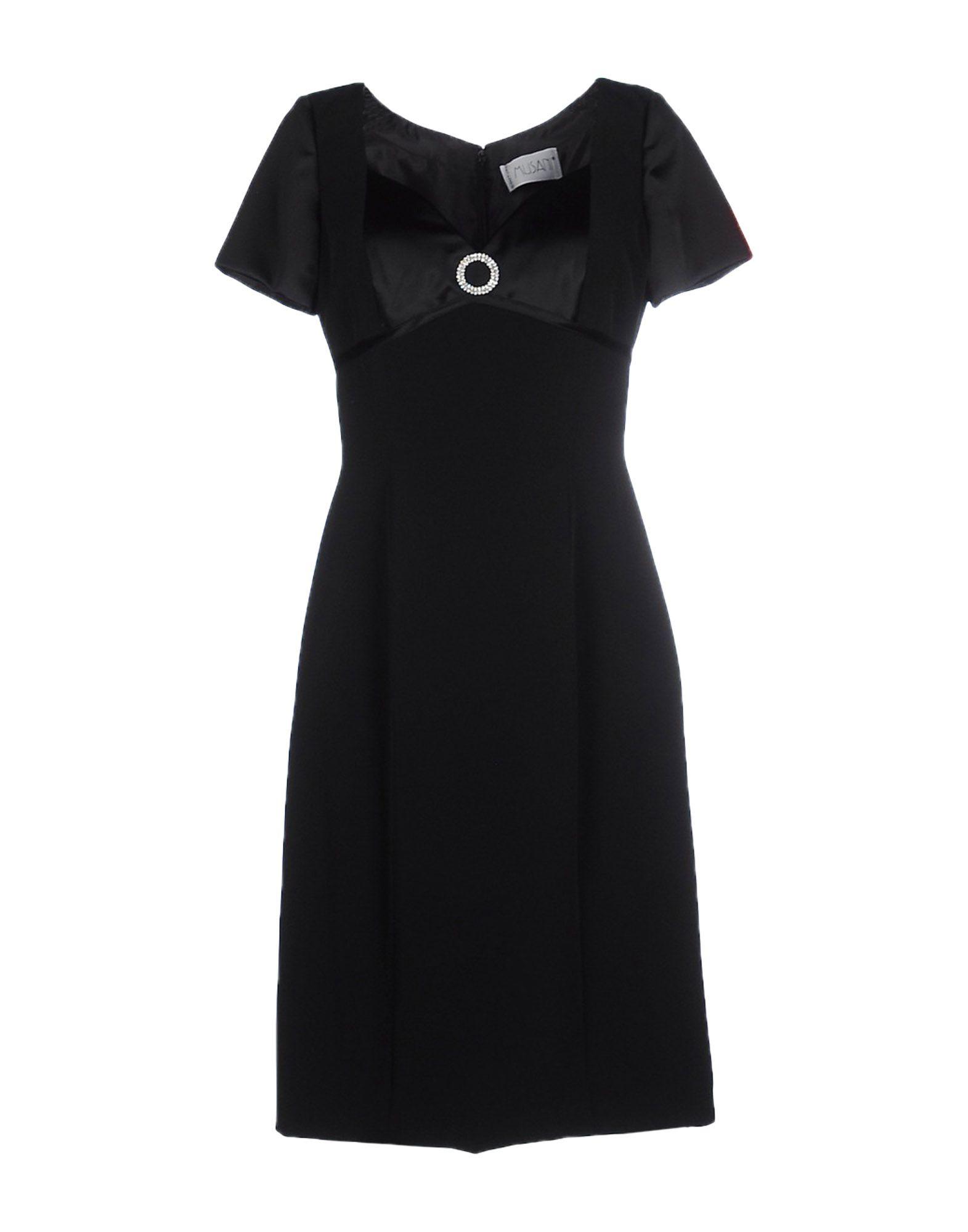 MUSANI COUTURE Платье до колена moschino couture сандалии