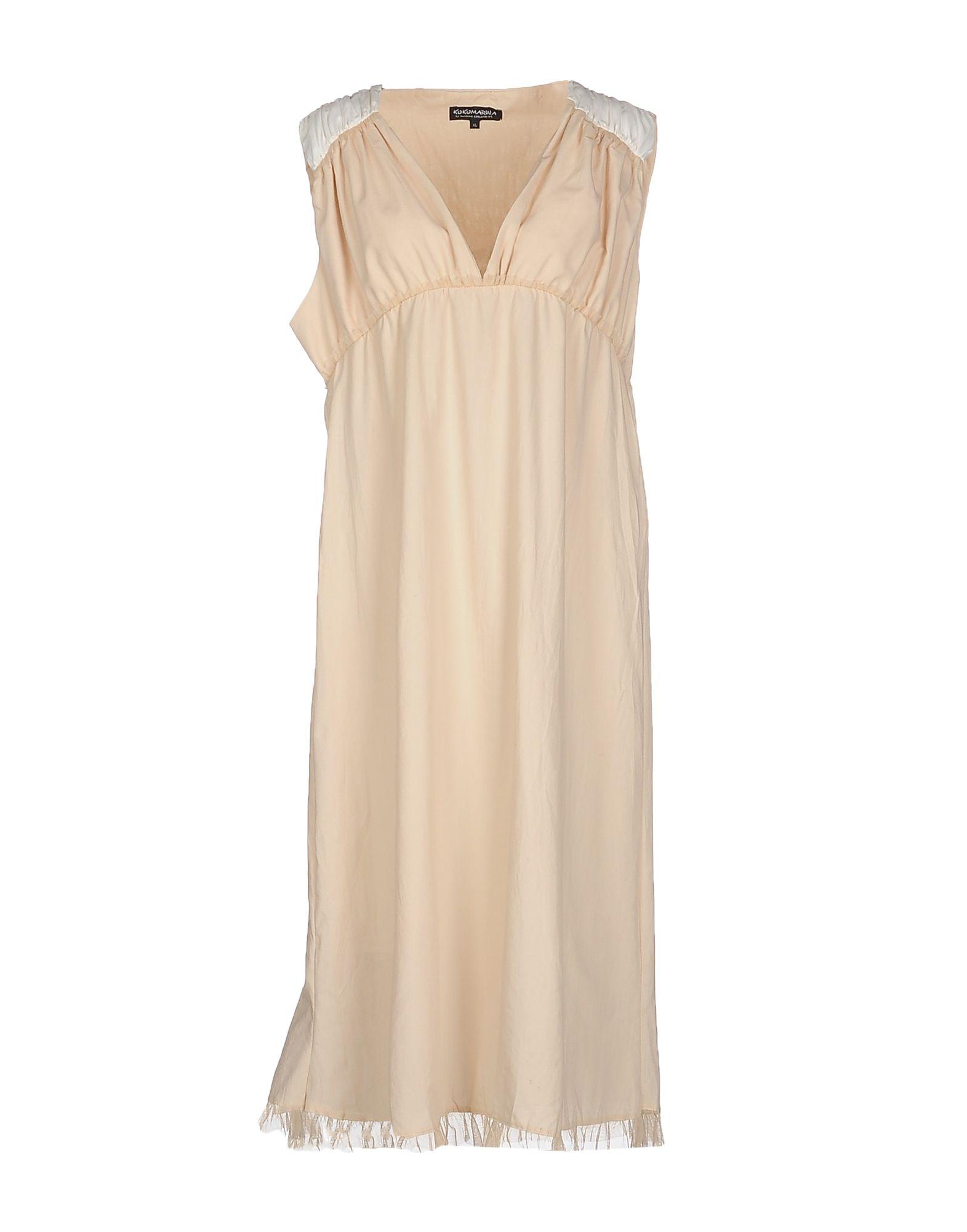 KOKOMARINA by ANTOINE COELENBIER Платье длиной 3/4 платье туника otto цвет зеленый пейсли