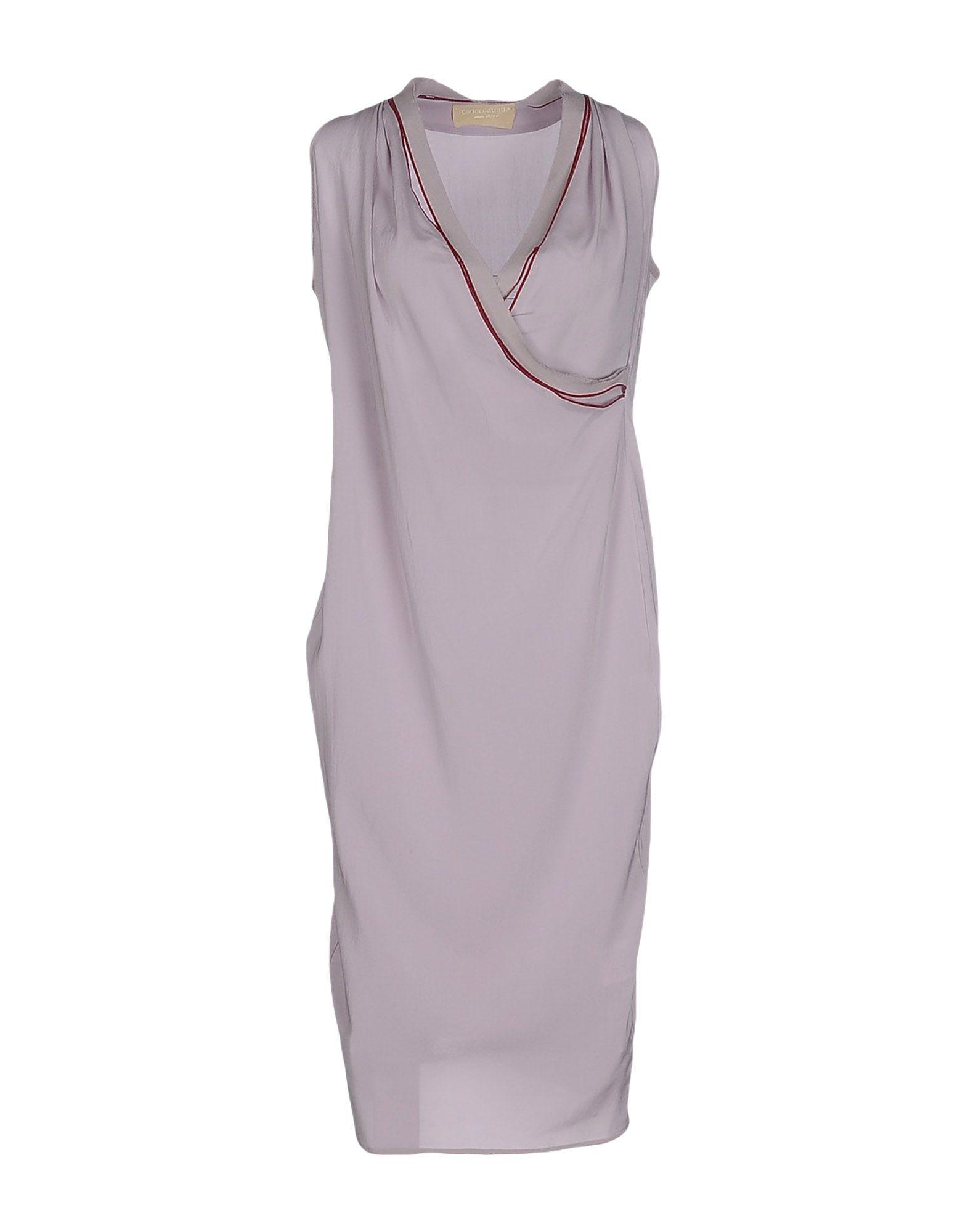 CARLO CONTRADA Платье до колена paolo casalini платье до колена