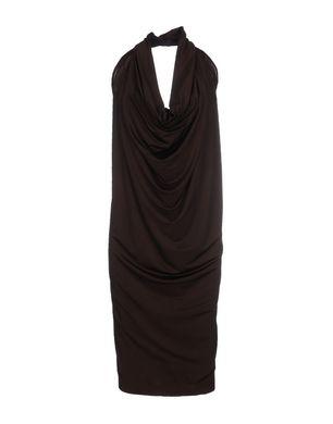 Guhrow Angebote FABRIZIO LENZI Damen Knielanges Kleid Farbe Mittelbraun Größe 3