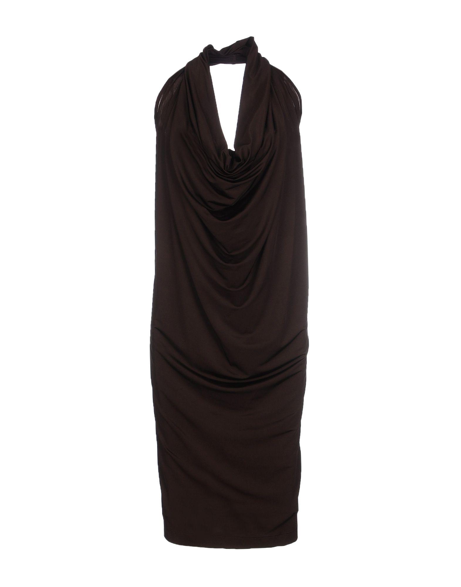 цена FABRIZIO LENZI Платье до колена онлайн в 2017 году