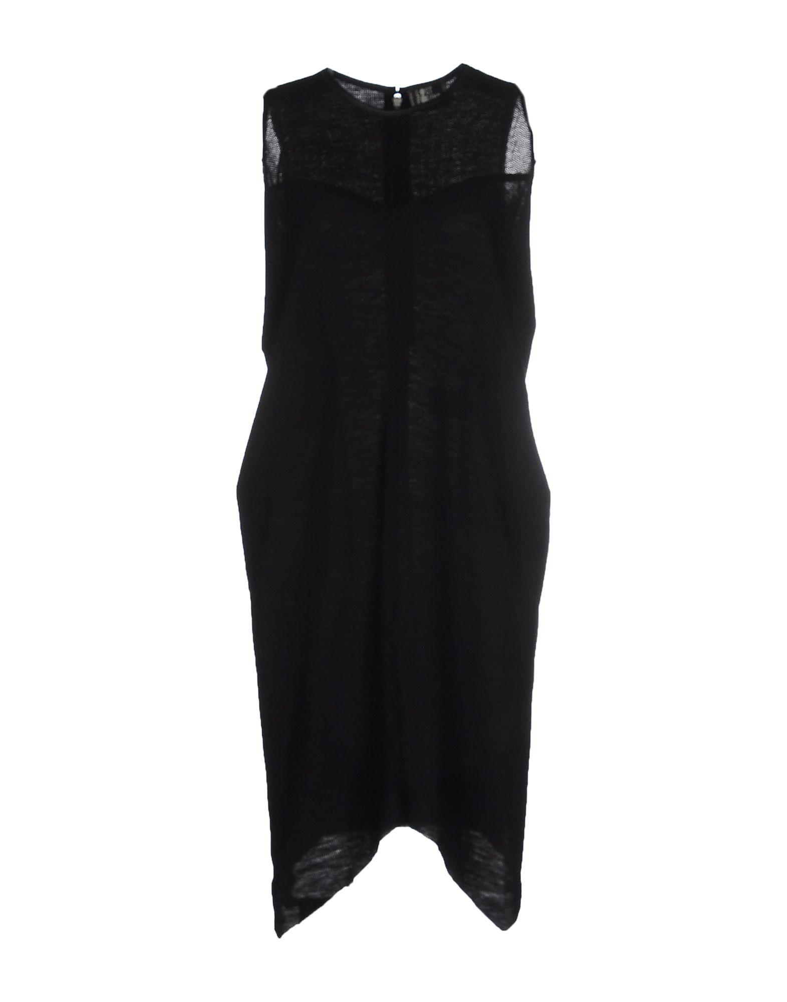LOST & FOUND Платье до колена found in brooklyn