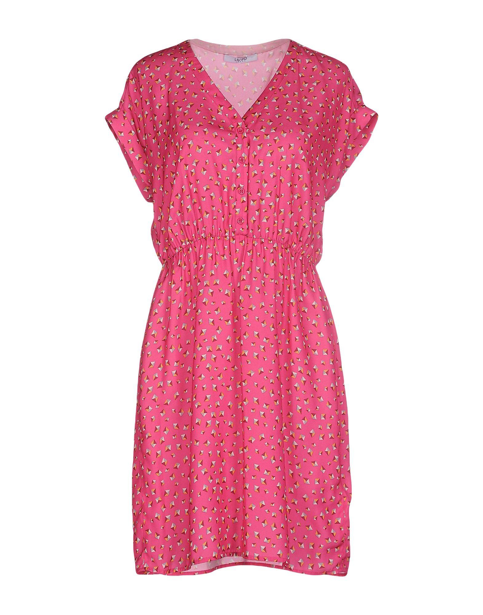 LIU •JO Короткое платье платье liu jo jeans liu jo jeans li003ewzhf10
