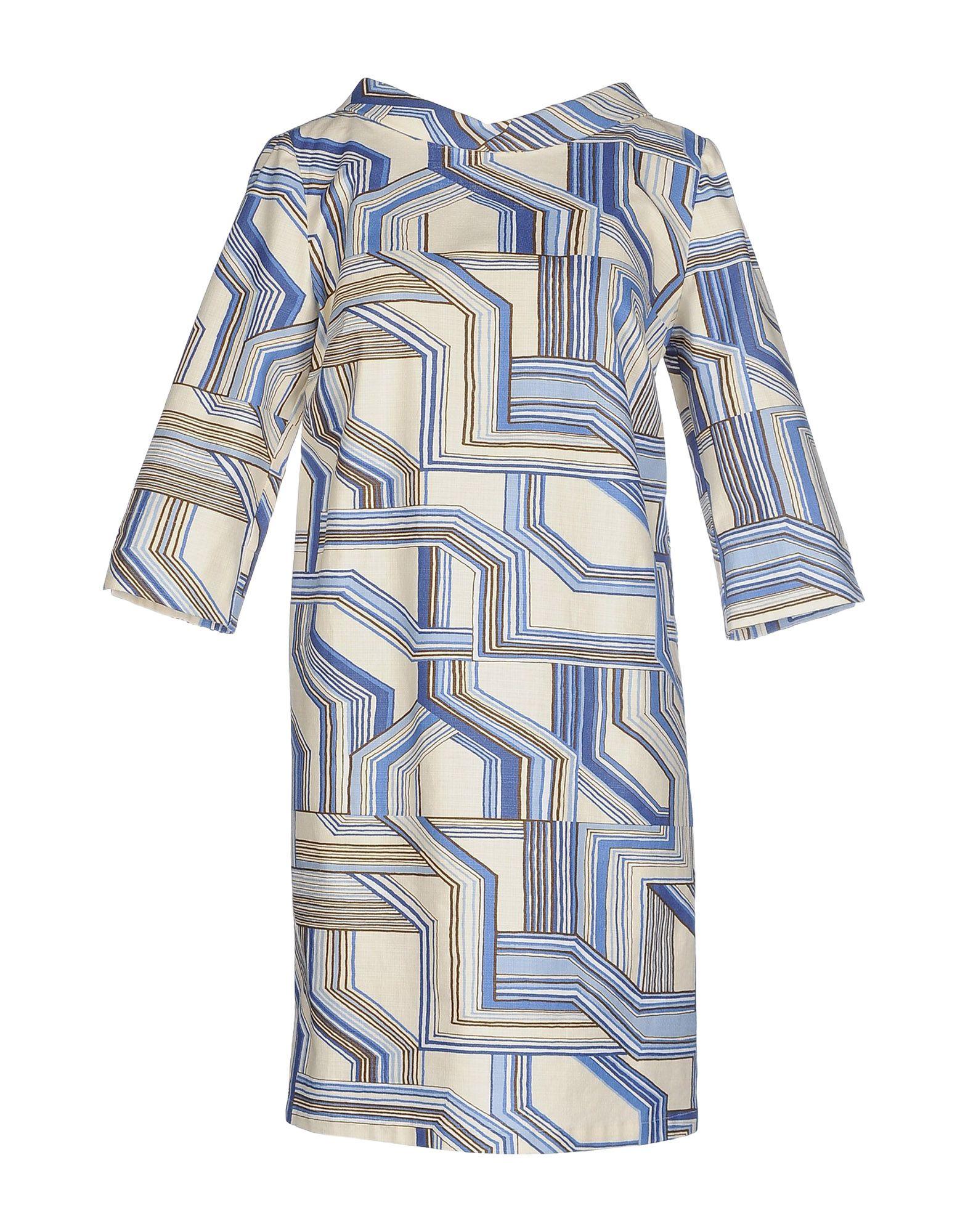 где купить STORIA DISEGNATA DA ALDO GUGLIELMINOTTI Короткое платье по лучшей цене