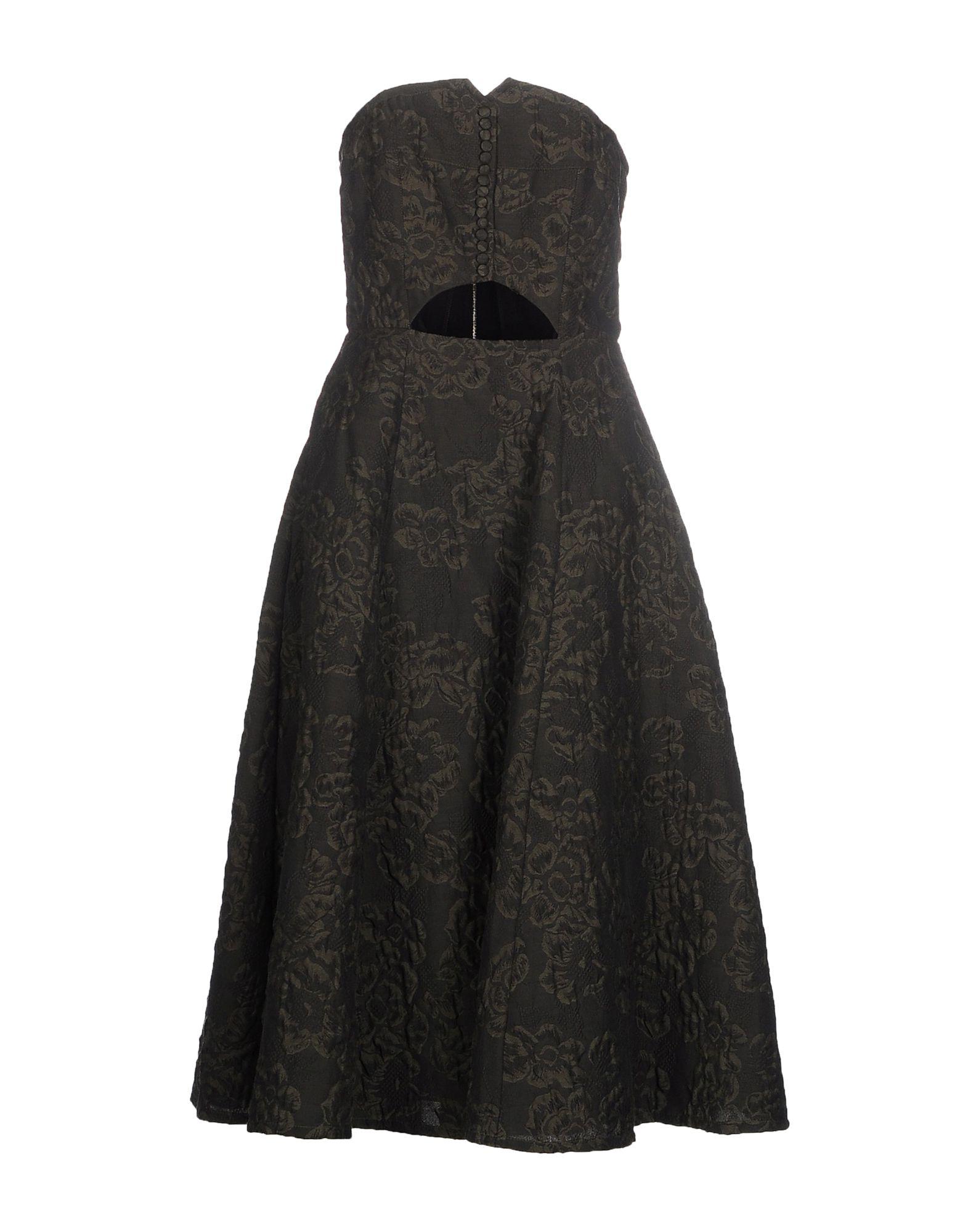 ERDEM Платье до колена paolo casalini платье до колена