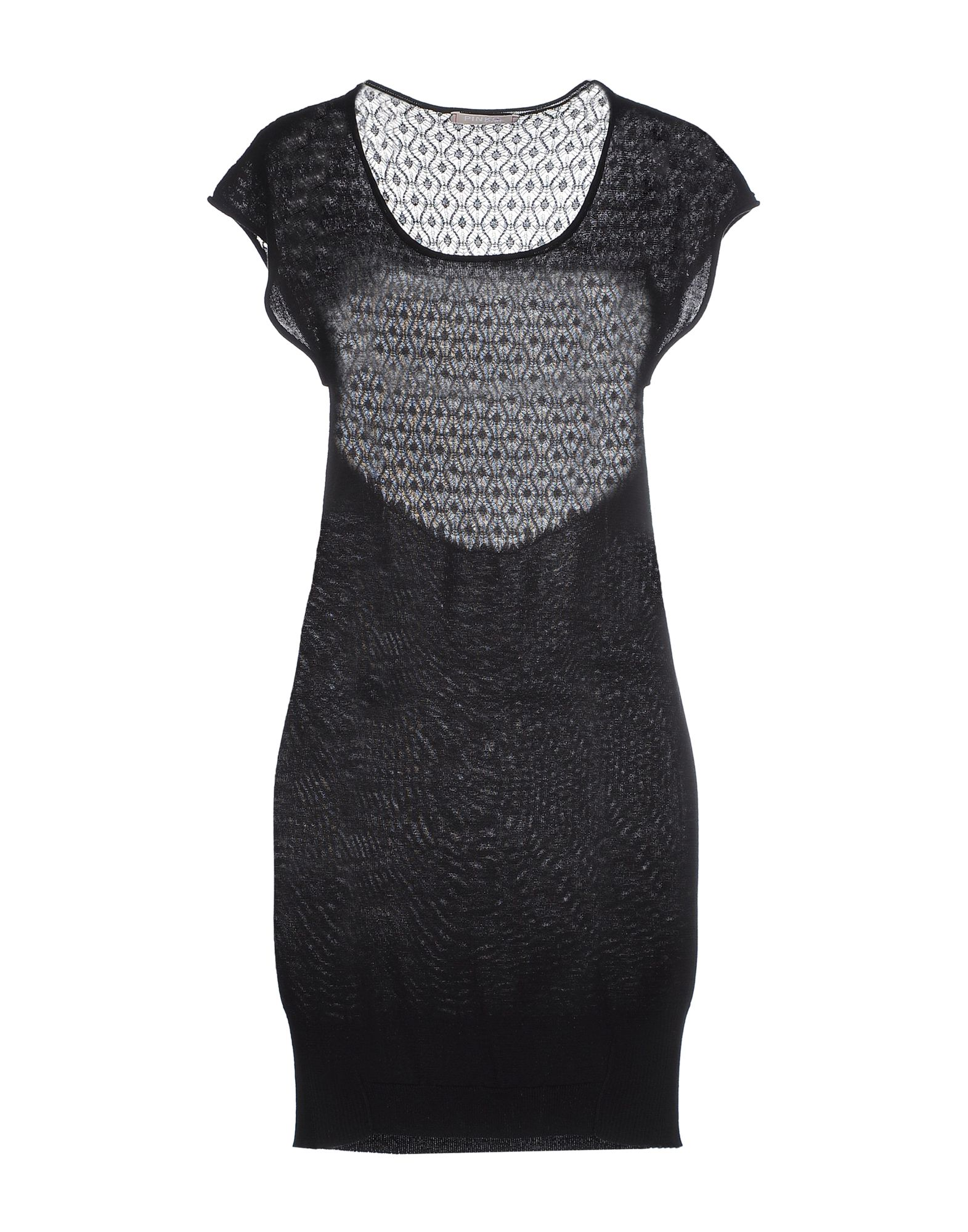 PINKO Damen Kurzes Kleid Farbe Schwarz Größe 4