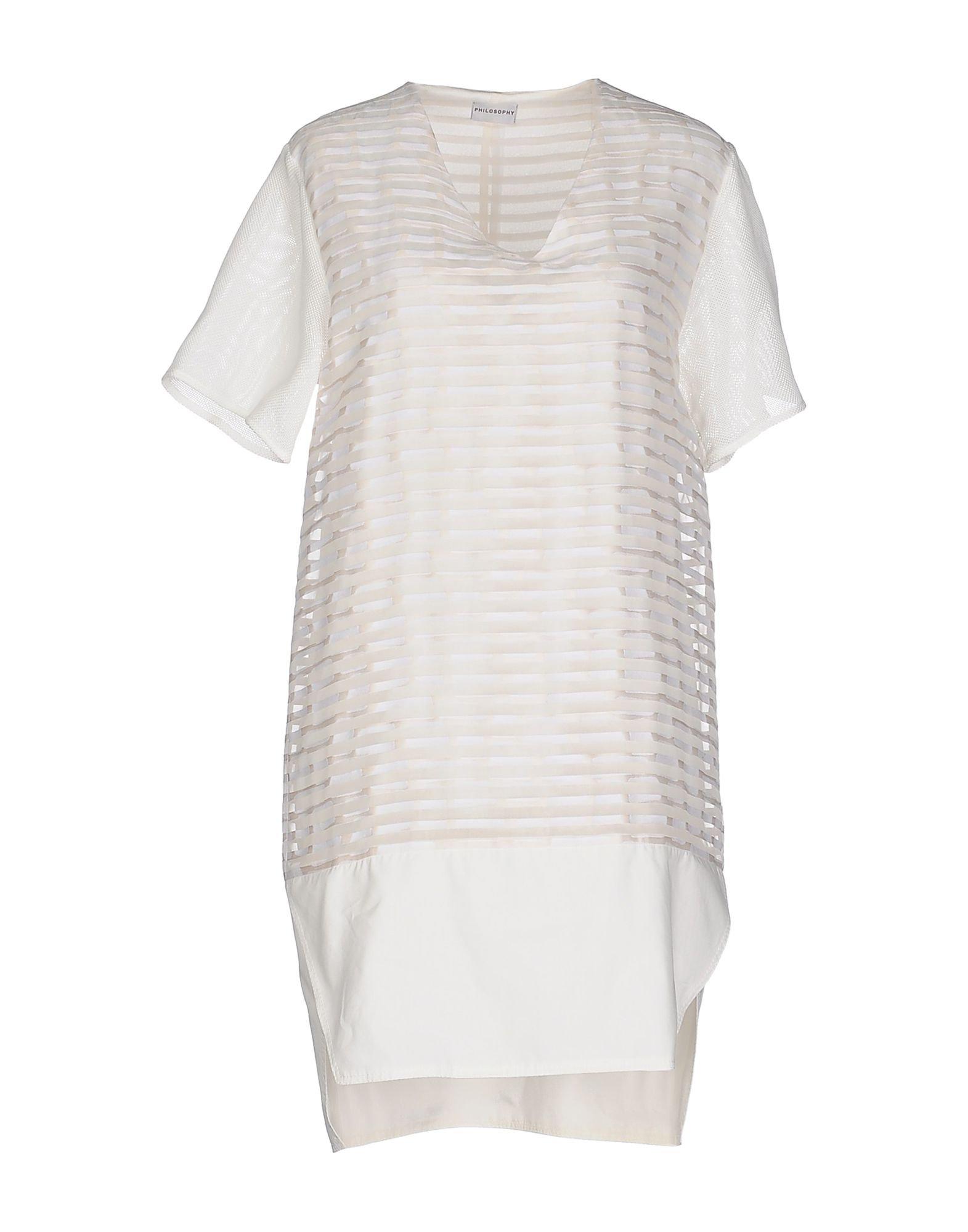 PHILOSOPHY di ALBERTA FERRETTI Короткое платье юбка philosophy di alberta ferretti юбки мини короткие