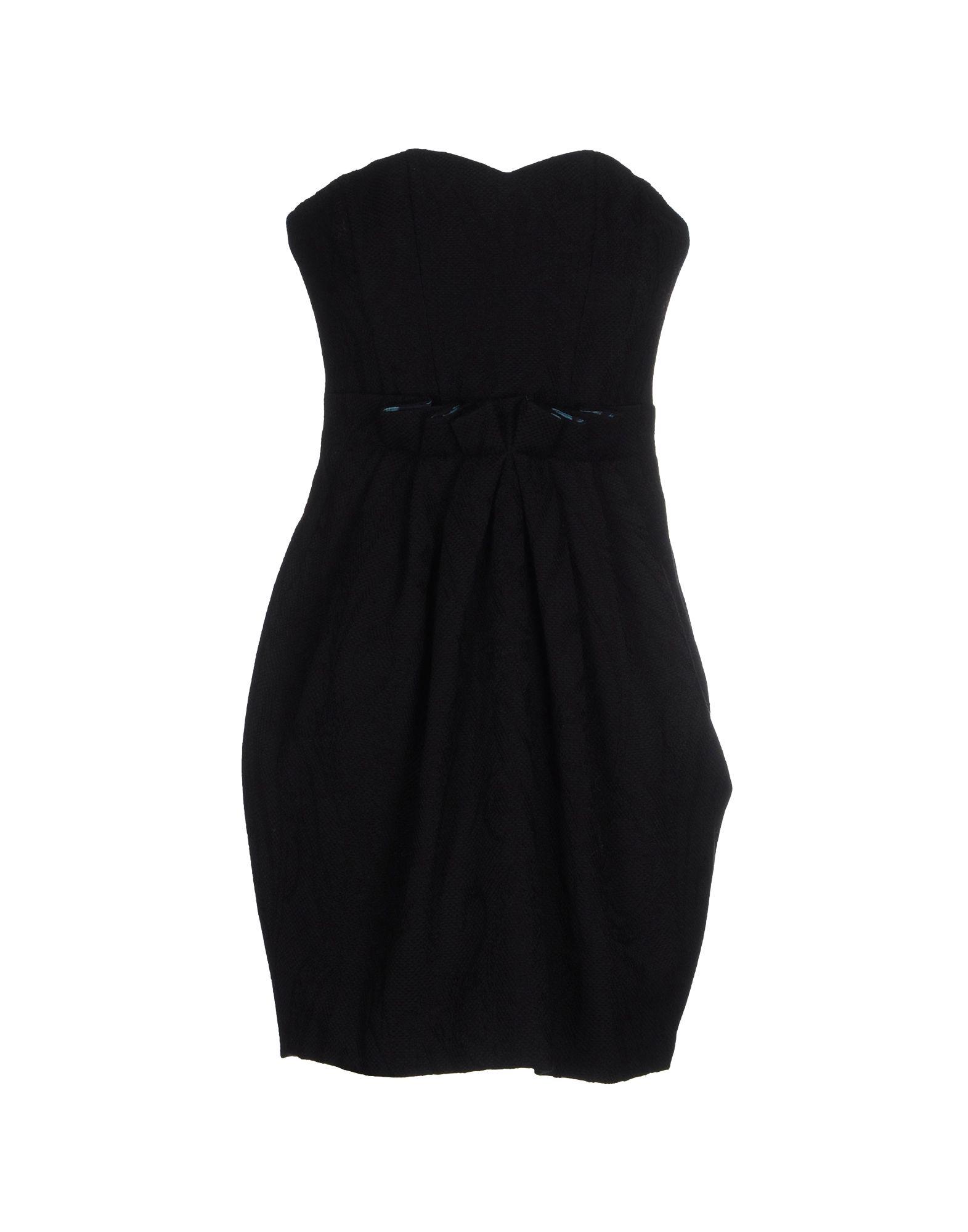MAGAZZINI DEL SALE Короткое платье magazzini del sale джинсовые брюки