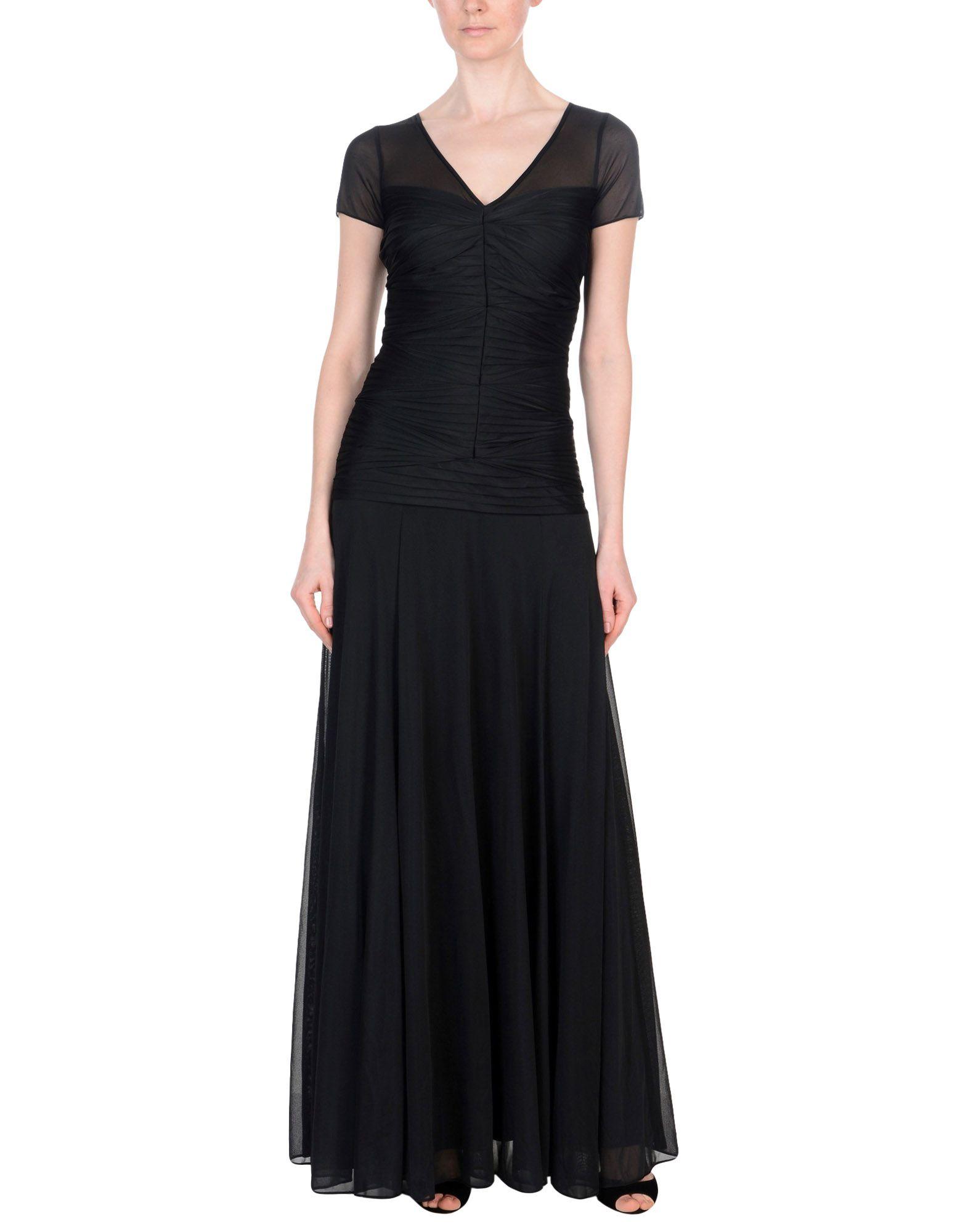 купить HALSTON HERITAGE Длинное платье по цене 11650 рублей