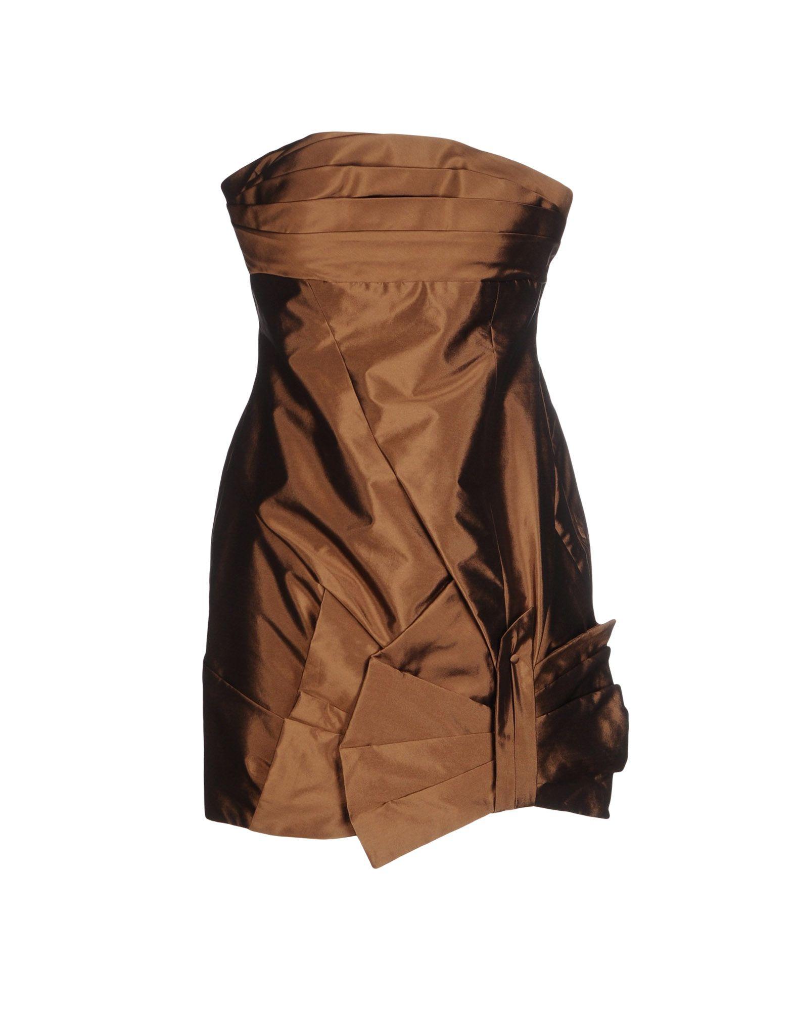 где купить  MIKAEL AGHAL Короткое платье  по лучшей цене