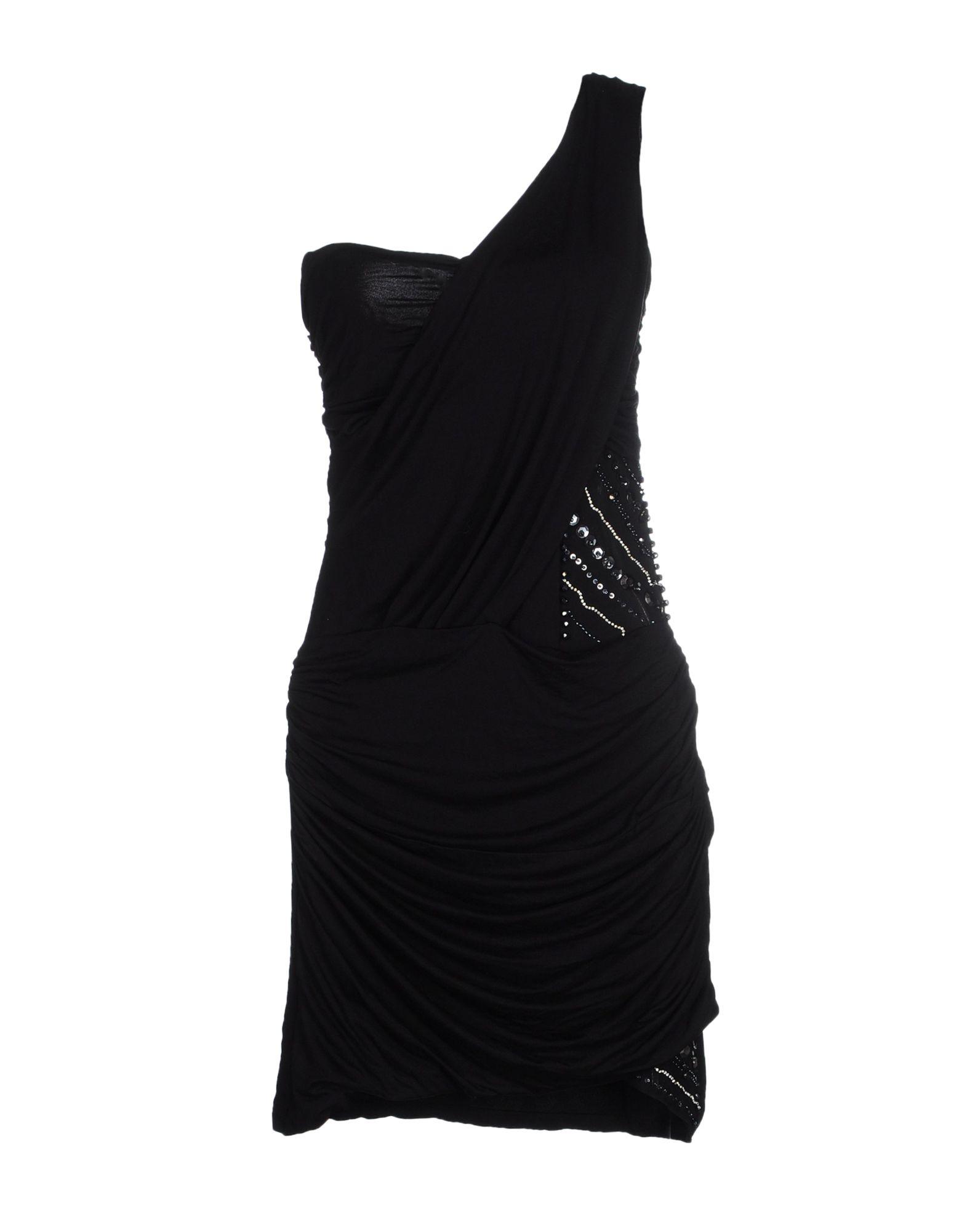 MET MIAMI COCKTAIL Damen Kurzes Kleid Farbe Schwarz Größe 5
