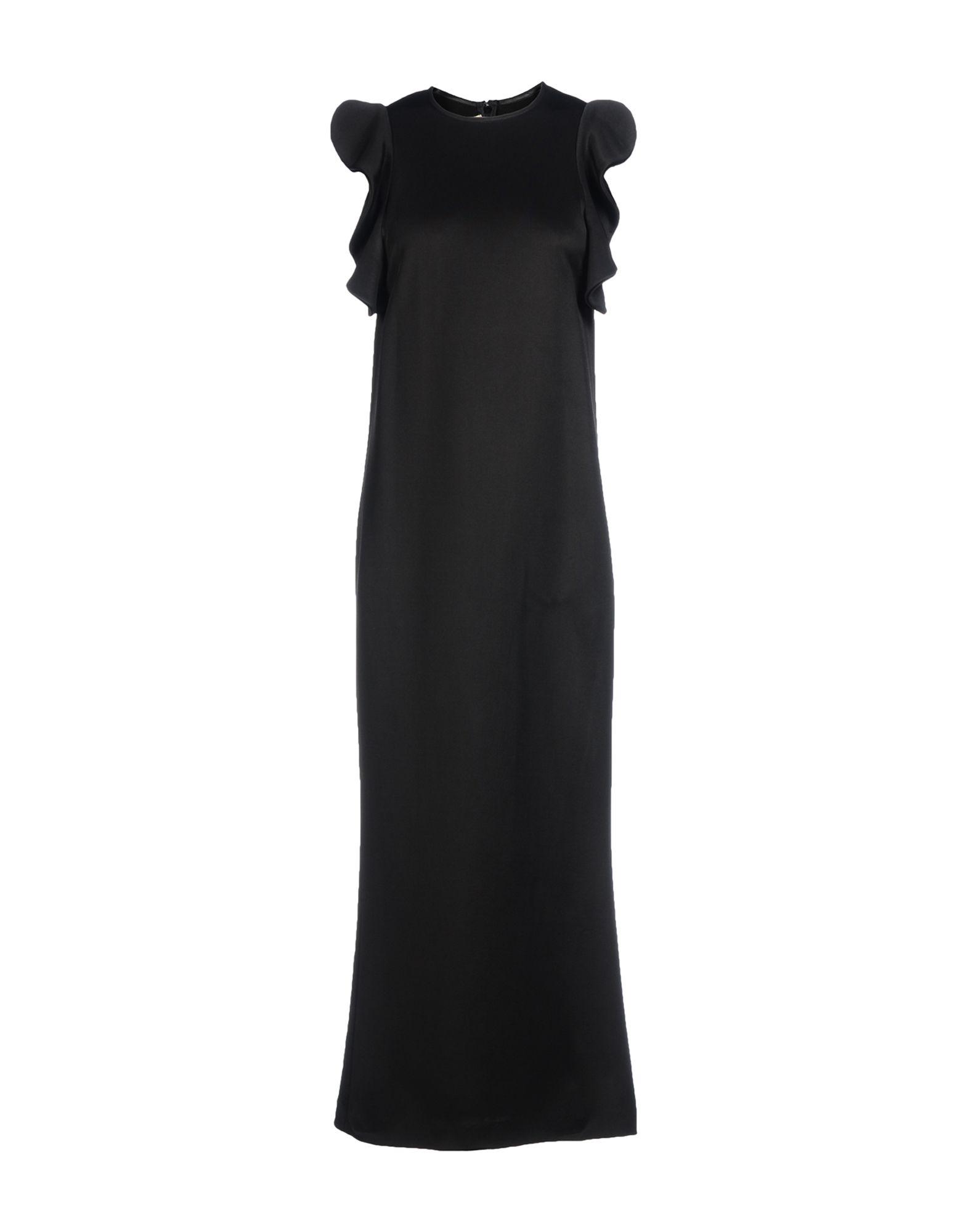 FRANCESCO SCOGNAMIGLIO Длинное платье цена 2017