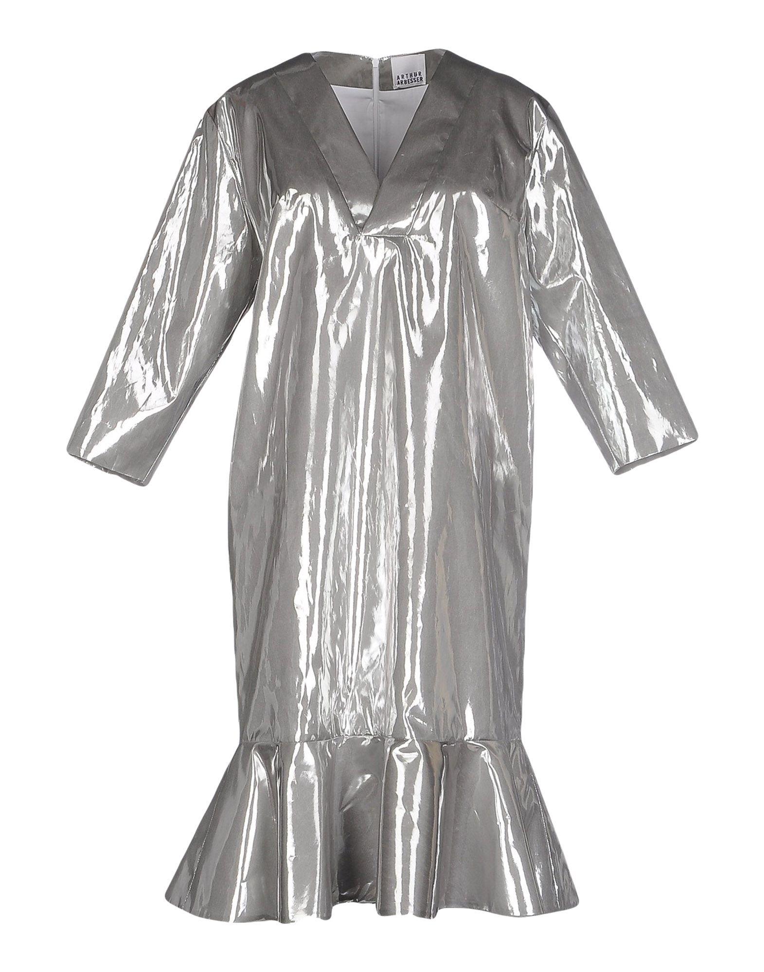 ARTHUR ARBESSER Short Dress in Silver