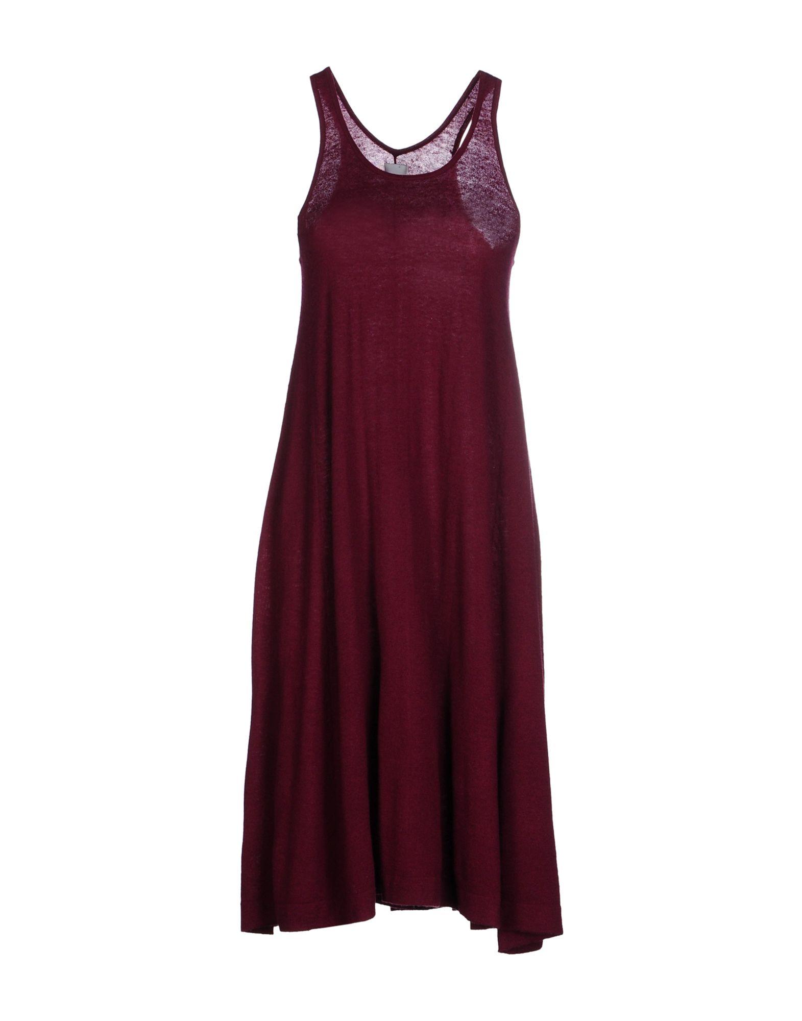 MADELEINE THOMPSON Платье до колена madeleine туфли madeleine 24477 grau