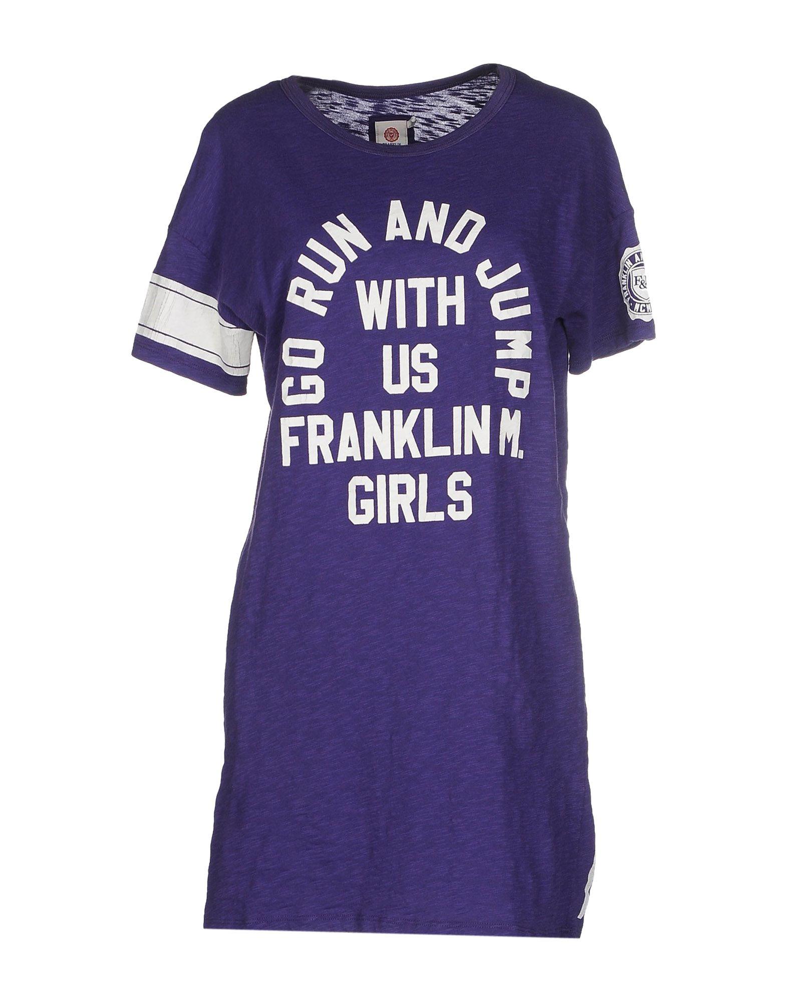 FRANKLIN & MARSHALL Короткое платье puzzle 500 яркие совы alpz500 7701