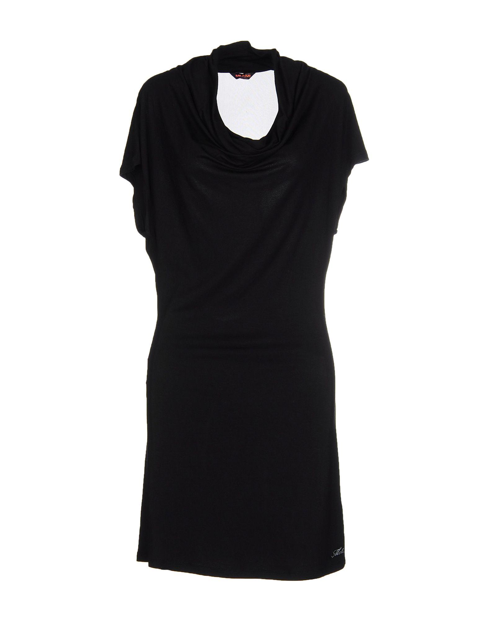 MET MIAMI COCKTAIL Damen Kurzes Kleid Farbe Schwarz Größe 3