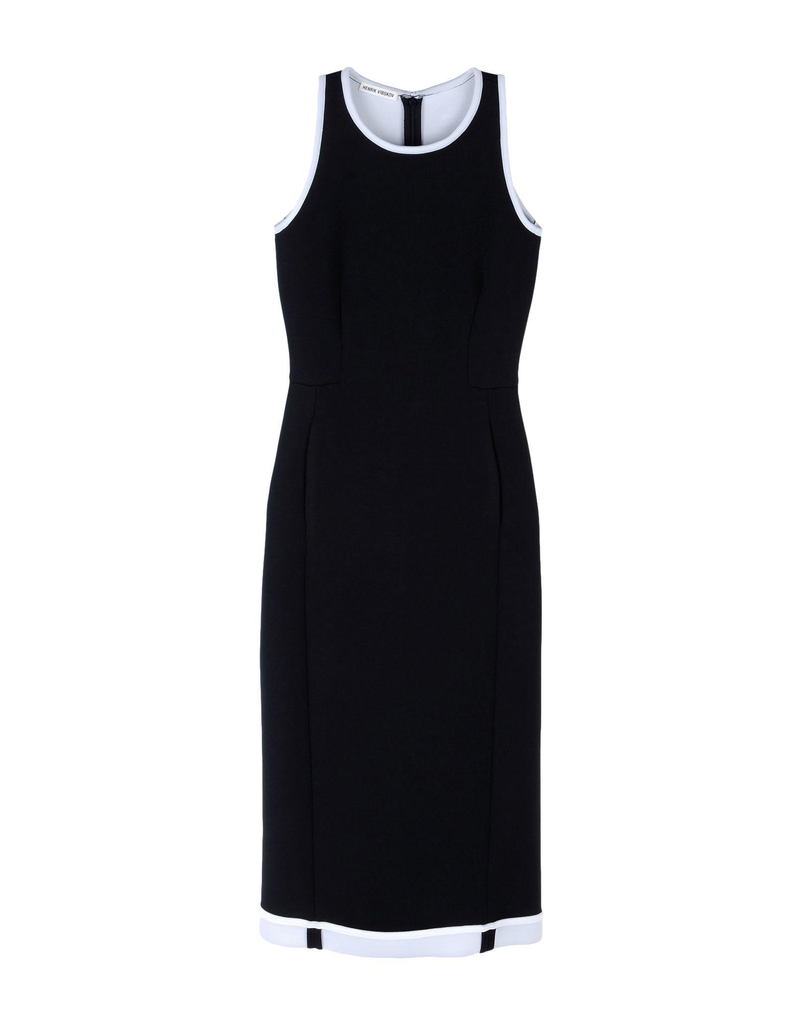 цена HENRIK VIBSKOV Платье длиной 3/4 онлайн в 2017 году