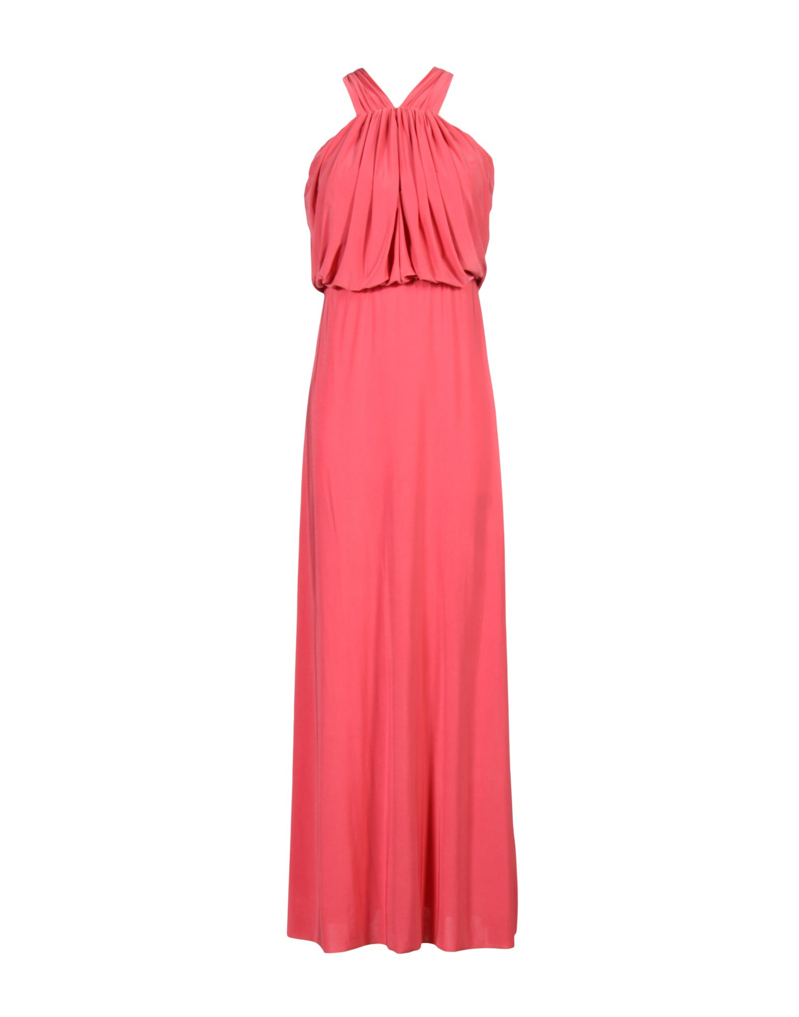 TBAGSLOSANGELES Long Dress in Coral