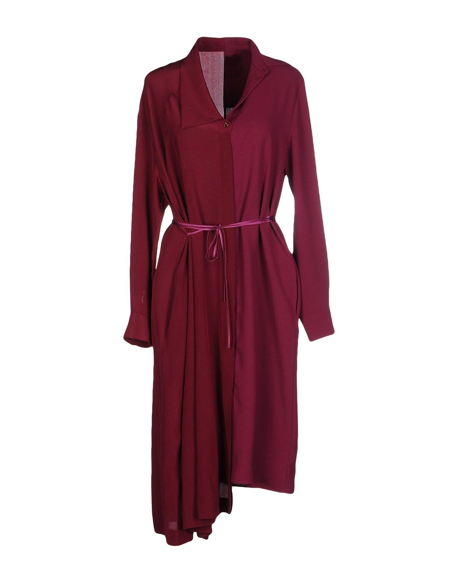 MAISON MARGIELA Платье до колена гипюровое платье