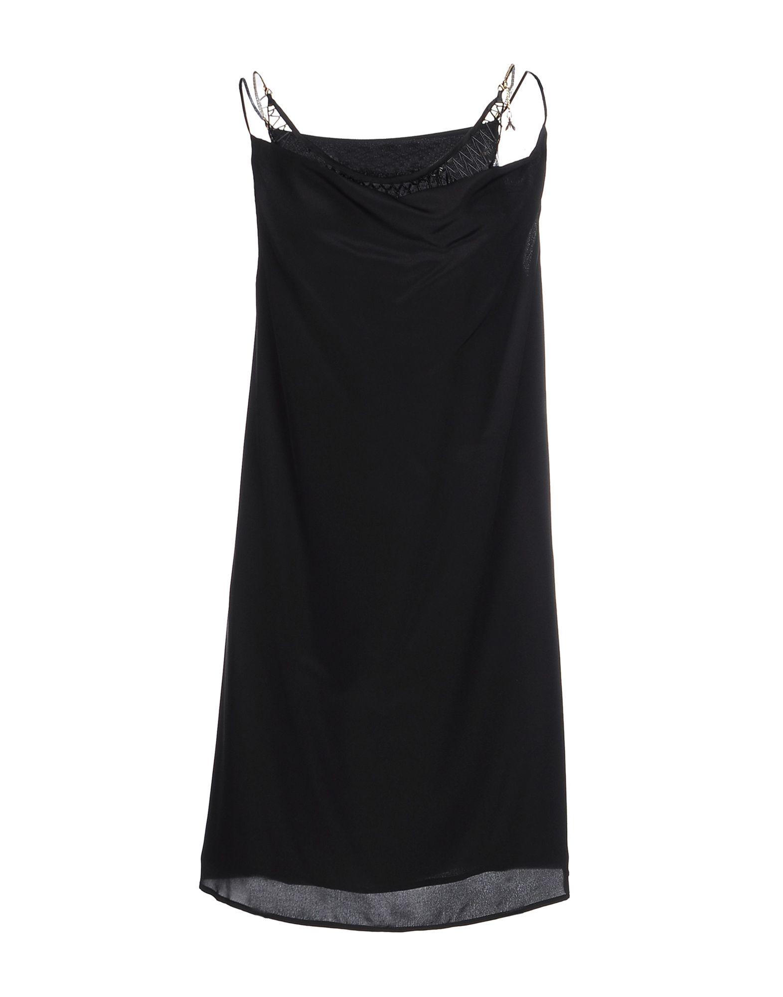 PATRIZIA PEPE SERA Короткое платье patrizia pepe джинсы с 5 карманами с широкими штанинами