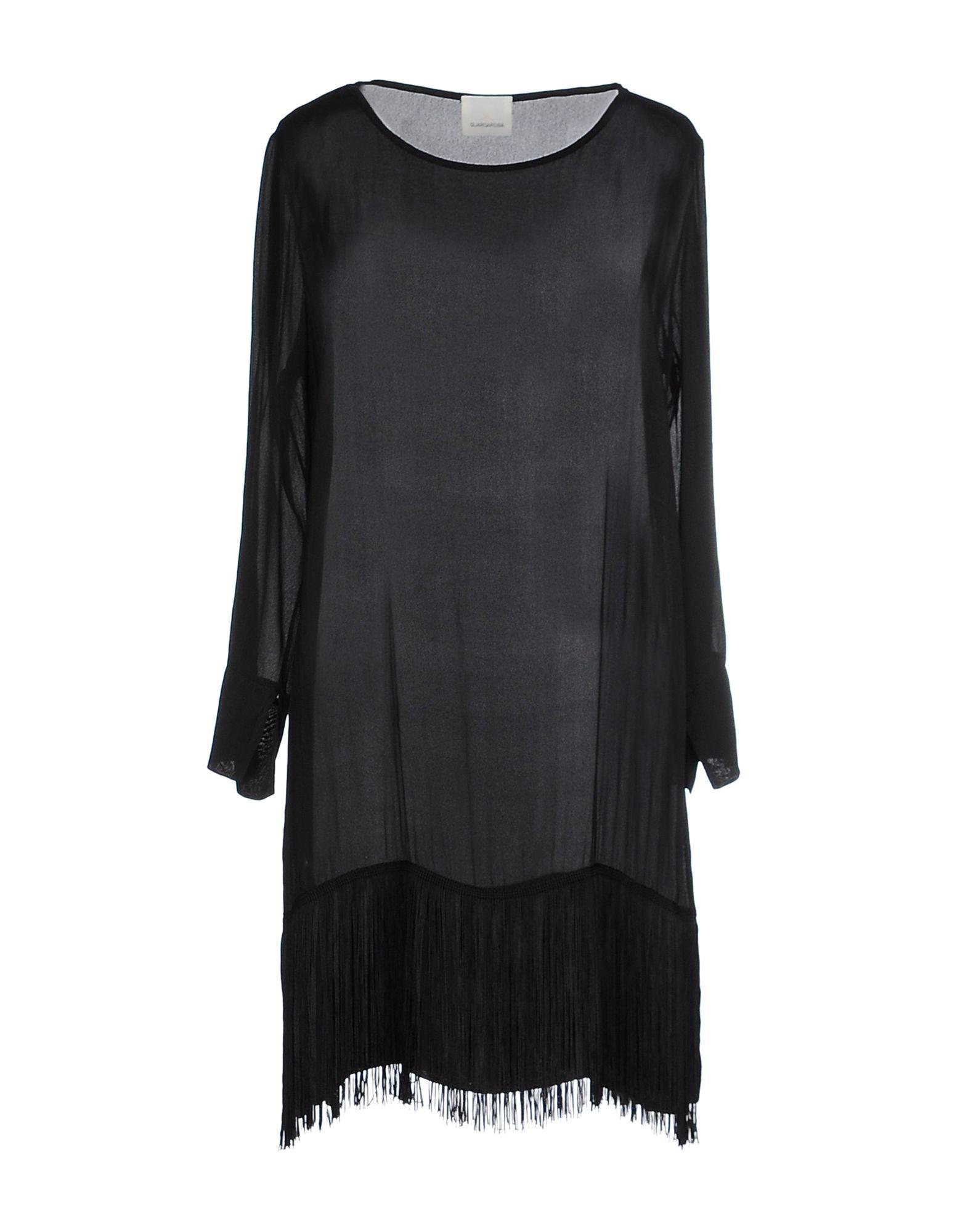 GUARDAROBA by ANIYE BY Damen Kurzes Kleid Farbe Schwarz Größe 3