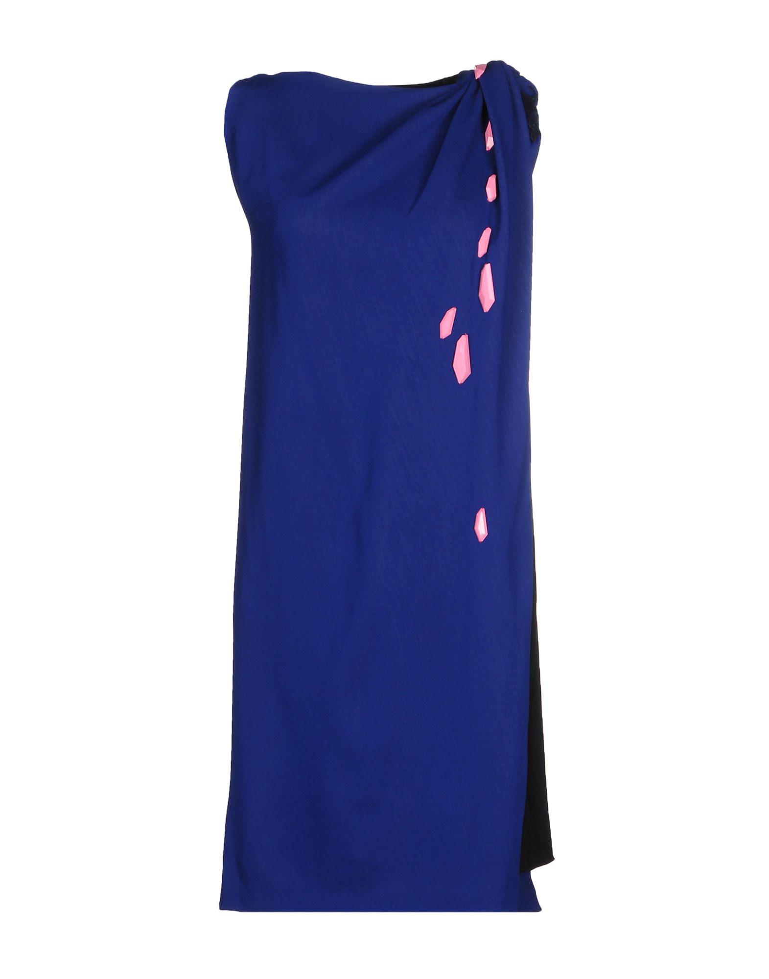 где купить  DAVID SZETO Короткое платье  по лучшей цене