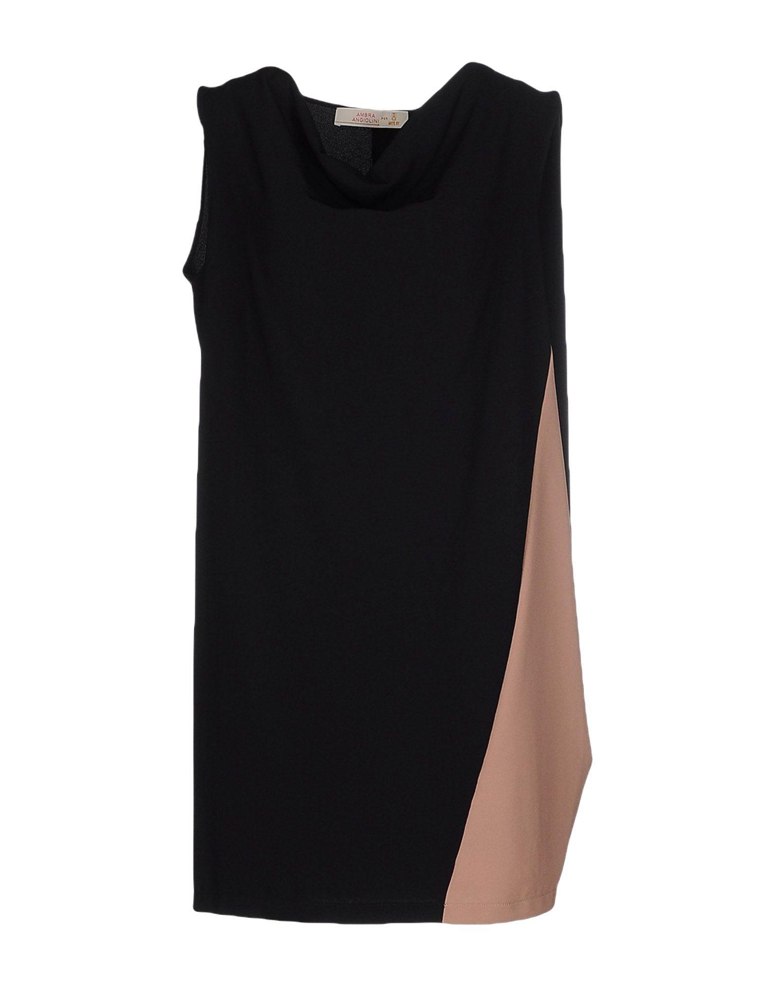 AMBRA ANGIOLINI x ANIYE BY Damen Kurzes Kleid Farbe Schwarz Größe 6