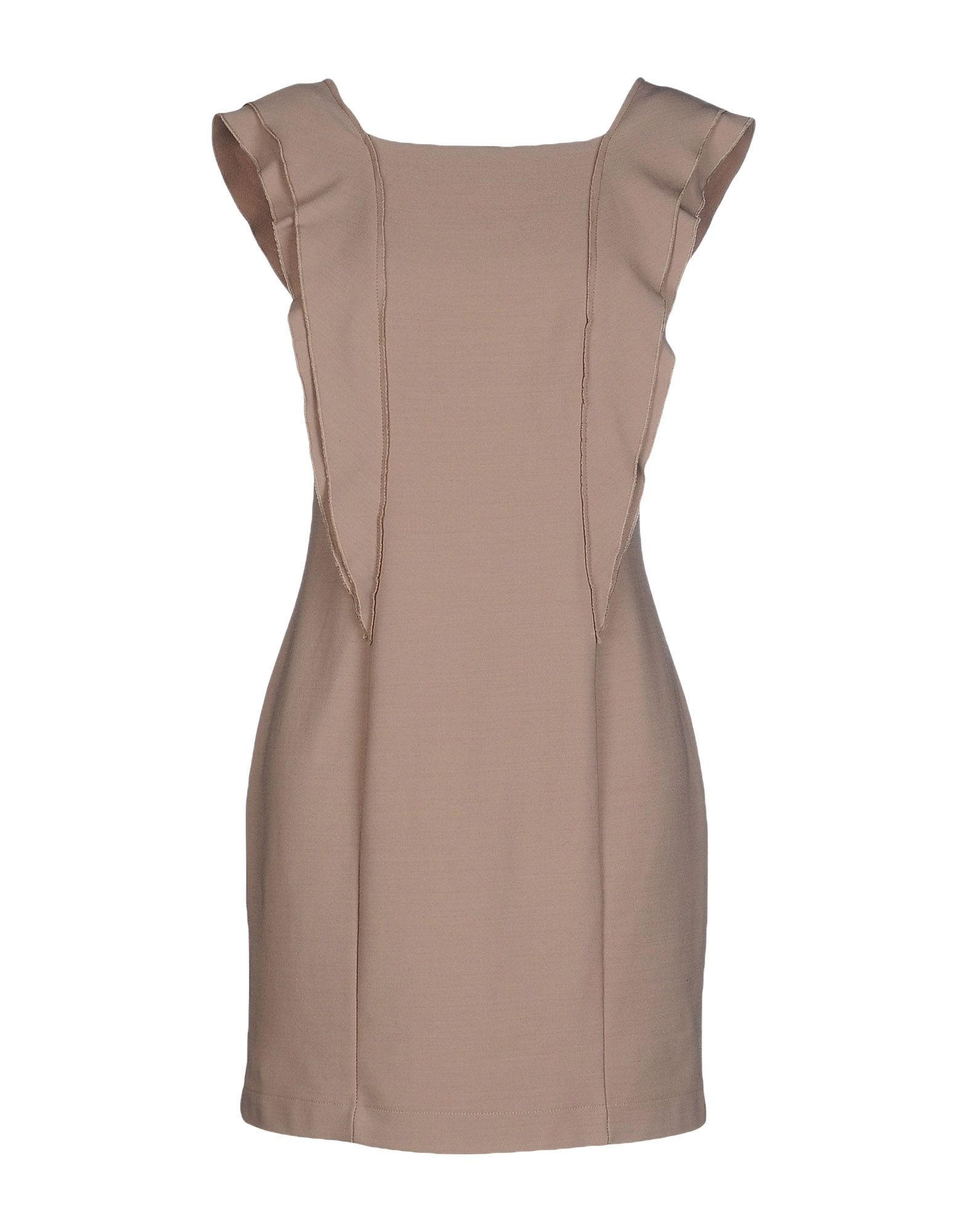 ANIYE BY Damen Kurzes Kleid Farbe Taubengrau Größe 6