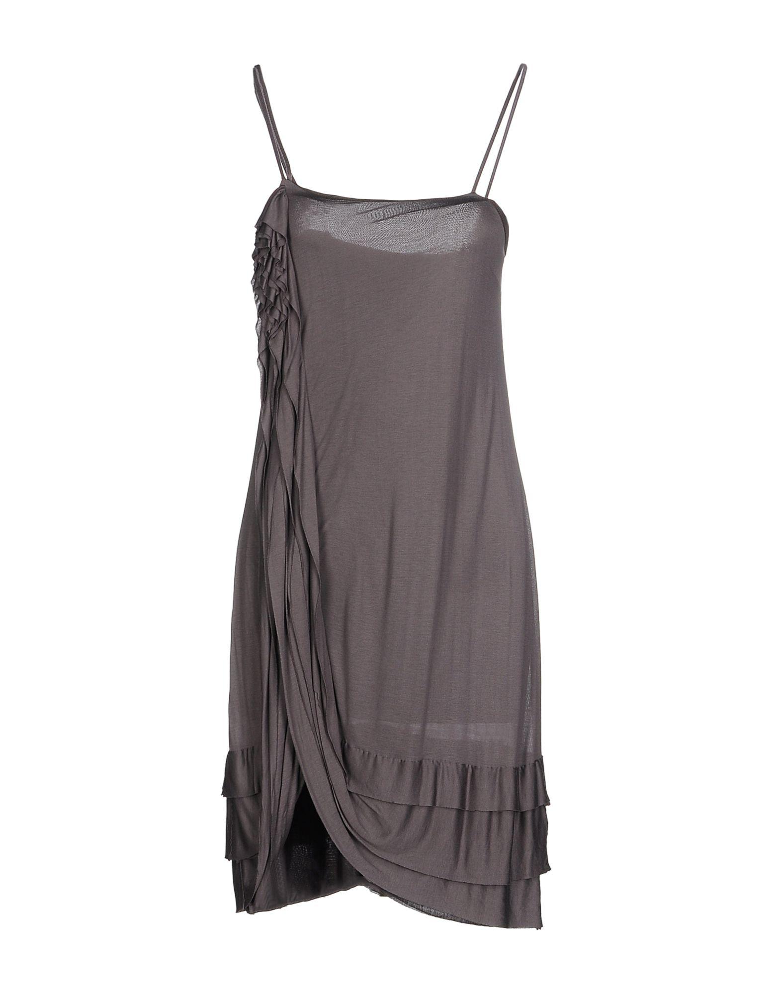 ANIYE BY Damen Knielanges Kleid Farbe Blei Größe 6