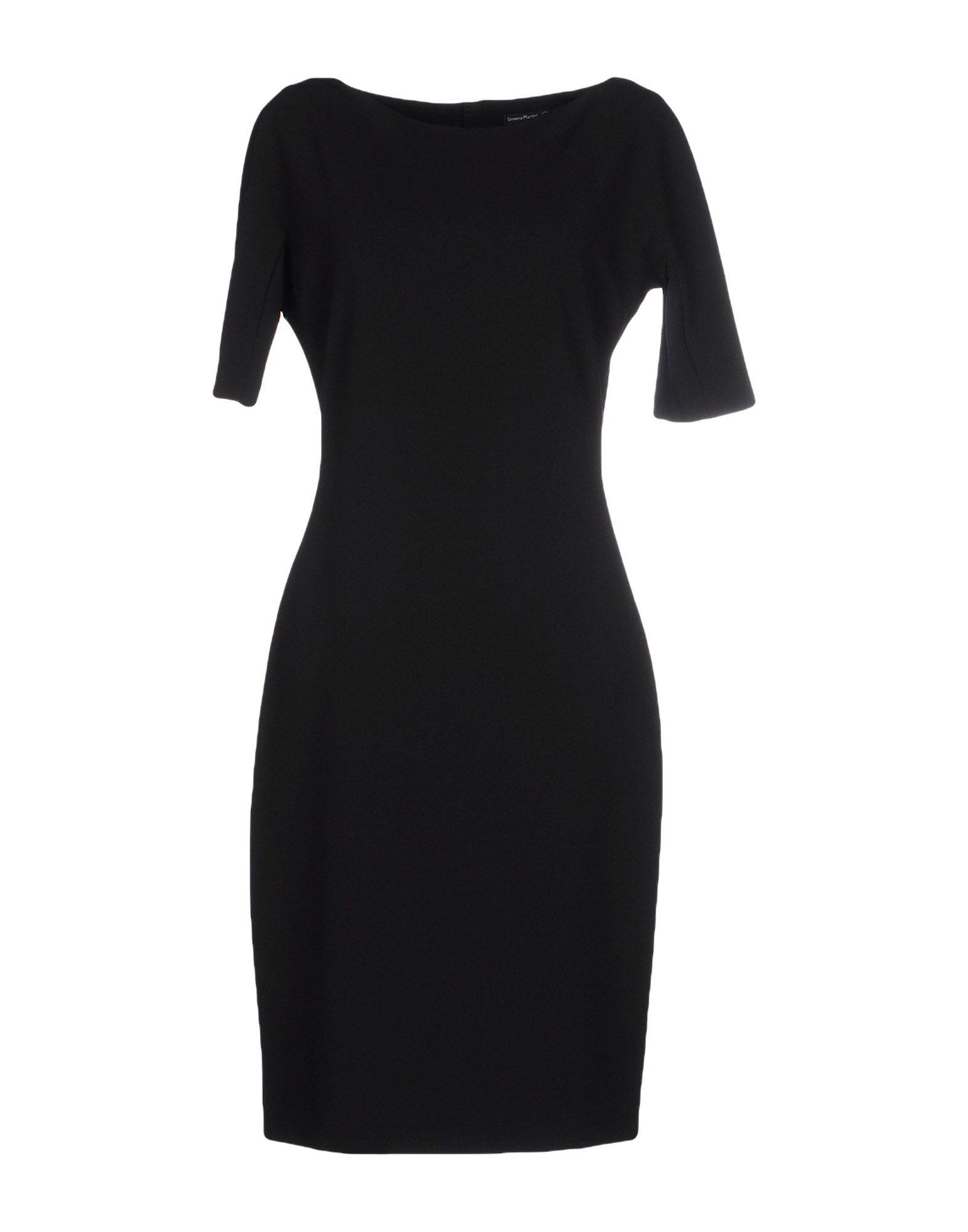 SIMONA MARTINI Платье до колена цена 2017